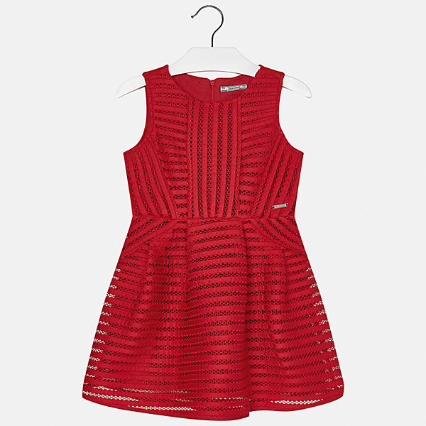Платье для девочки MayoralОдежда<br>Характеристики товара:<br><br>• цвет: красный<br>• состав: 100% полиэстер, подкладка - 100% полиэстер<br>• застежка: молния<br>• приталенное<br>• без рукавов<br>• с подкладкой<br>• страна бренда: Испания<br><br>Нарядное платье для девочки поможет разнообразить гардероб ребенка и создать эффектный наряд. Оно подойдет для различных случаев. Платье хорошо сидит по фигуре.<br><br>Платье для девочки от испанского бренда Mayoral (Майорал) можно купить в нашем интернет-магазине.<br><br>Ширина мм: 236<br>Глубина мм: 16<br>Высота мм: 184<br>Вес г: 177<br>Цвет: красный<br>Возраст от месяцев: 144<br>Возраст до месяцев: 156<br>Пол: Женский<br>Возраст: Детский<br>Размер: 158,140,128/134,170,164,152<br>SKU: 5293276