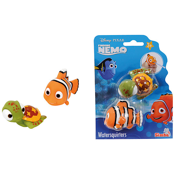 ФигуркиNemo, 2 шт., 7 см, SimbaФигурки из мультфильмов<br>Характеристики:<br><br>• тип игрушек для купания: брызгалки;<br>• количество в наборе: 2 шт.;<br>• размер игрушки: 7 см;<br>• материал: резина;<br>• размер упаковки: 17х15х4 см.<br><br>Игрушки-брызгалки для купания позабавят кроху во время водных процедур. Игрушки выпускают фонтанчики воды, струйки щекочут малыша. Игрушки выполнены из качественной резины, по мотивам мультфильма «В поисках Немо». <br><br>Фигурки Nemo, 2 шт., 7 см, Simba можно купить в нашем магазине.<br><br>Ширина мм: 150<br>Глубина мм: 40<br>Высота мм: 170<br>Вес г: 90<br>Возраст от месяцев: 36<br>Возраст до месяцев: 84<br>Пол: Унисекс<br>Возраст: Детский<br>SKU: 5295525