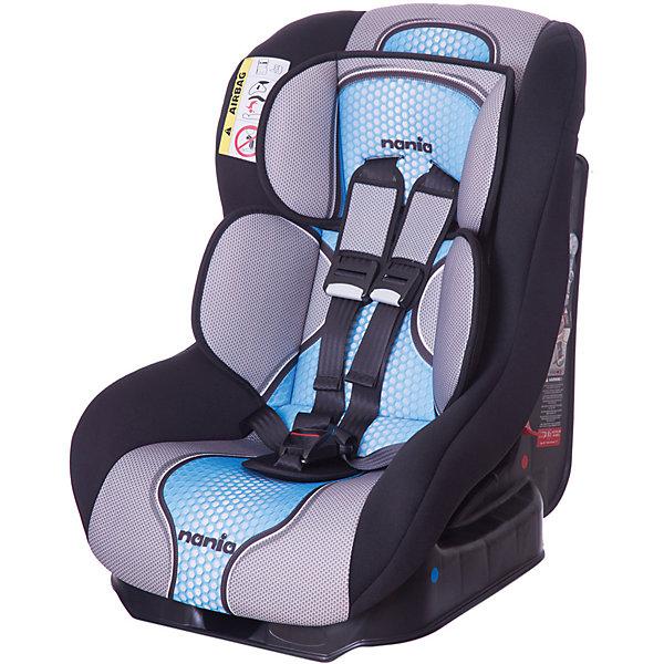 Автокресло Nania Driver FST 0-18 кг, pop blueГруппа 0-1 (до 18 кг)<br>Характеристики автокресла Nania Driver FST:<br><br>• группа 0-1;<br>• вес ребенка: до 18 кг;<br>• возраст ребенка: от рождения до 4-х лет;<br>• способ установки: по ходу движения автомобиля;<br>• способ крепления: штатными ремнями безопасности автомобиля;<br>• 5-ти точечные ремни безопасности с мягкими накладками;<br>• регулируемый наклон спинки;<br>• анатомический вкладыш для новорожденного, подголовник;<br>• дополнительная защита от боковых ударов;<br>• съемные чехлы, стирка при температуре 30 градусов;<br>• материал: пластик, полиэстер;<br>• стандарт безопасности: ЕСЕ R44/03.<br><br>Размер автокресла: 59х48х43 см<br>Размер упаковки: 45х50х60 см<br>Вес в упаковке: 4,44 кг<br><br>Обезопасить ребенка во время поездок на машине помогает детское автокресло. Группа автокресел 0/1 используется, пока вес ребенка находится в пределах 18 кг. Регулируемый наклон спинки позволяет малышу выбрать подходящее положение и для сна, и для игр. Малыша пристегивают встроенными ремнями безопасности, которые регулируются по длине. <br><br>Автокресло Driver FST, 0-18 кг., Nania, pop blue можно купить в нашем интернет-магазине.<br><br>Ширина мм: 600<br>Глубина мм: 460<br>Высота мм: 520<br>Вес г: 12490<br>Возраст от месяцев: 0<br>Возраст до месяцев: 48<br>Пол: Мужской<br>Возраст: Детский<br>SKU: 5296298