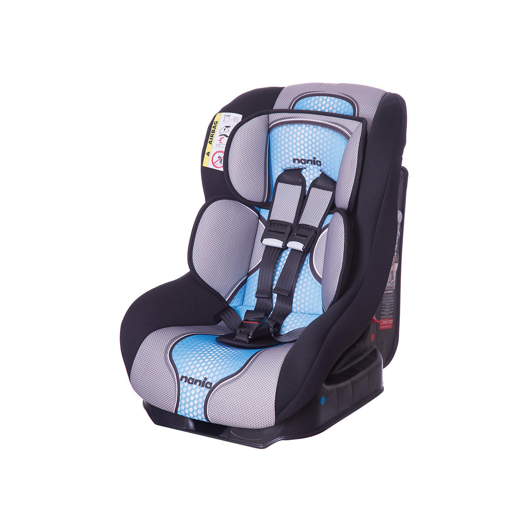 Автокресло Nania Driver FST, 0-18 кг, pop blueГруппа 0+, 1 (До 18 кг)<br>Характеристики автокресла Nania Driver FST:<br><br>• группа 0-1;<br>• вес ребенка: до 18 кг;<br>• возраст ребенка: от рождения до 4-х лет;<br>• способ установки: по ходу движения автомобиля;<br>• способ крепления: штатными ремнями безопасности автомобиля;<br>• 5-ти точечные ремни безопасности с мягкими накладками;<br>• регулируемый наклон спинки;<br>• анатомический вкладыш для новорожденного, подголовник;<br>• дополнительная защита от боковых ударов;<br>• съемные чехлы, стирка при температуре 30 градусов;<br>• материал: пластик, полиэстер;<br>• стандарт безопасности: ЕСЕ R44/03.<br><br>Размер автокресла: 59х48х43 см<br>Размер упаковки: 45х50х60 см<br>Вес в упаковке: 4,44 кг<br><br>Обезопасить ребенка во время поездок на машине помогает детское автокресло. Группа автокресел 0/1 используется, пока вес ребенка находится в пределах 18 кг. Регулируемый наклон спинки позволяет малышу выбрать подходящее положение и для сна, и для игр. Малыша пристегивают встроенными ремнями безопасности, которые регулируются по длине. <br><br>Автокресло Driver FST, 0-18 кг., Nania, pop blue можно купить в нашем интернет-магазине.<br><br>Ширина мм: 600<br>Глубина мм: 460<br>Высота мм: 520<br>Вес г: 12490<br>Возраст от месяцев: 0<br>Возраст до месяцев: 48<br>Пол: Мужской<br>Возраст: Детский<br>SKU: 5296298
