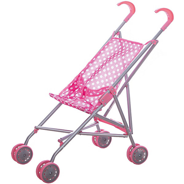 Коляска-трость для кукол Летняя, с ремнем безопасности, в горошек, MeloboТранспорт и коляски для кукол<br>Характеристики:<br><br>• вид коляски: для кукол;<br>• тип складывания: трость;<br>• тип колес: сдвоенные, неповоротные;<br>• тип ручки: отдельные;<br>• комплектация: коляска-трость с ремнем безопасности;<br>• материал: алюминий, пластик, текстиль;<br>• размер коляски: 52х26х55 см;<br>• размер упаковки: 65,5х27х28 см.<br><br>Прогулочная коляска для куколки превратит прогулки в удовольствие. Куколку или зверушку можно посадить в колясочку, пристегнуть ремнями безопасности (на липучке) и отправиться на прогулку. Коляска Melobo компактно складывается для транспортировки и хранения. <br><br>Коляску-трость для кукол Летняя, с ремнем безопасности, в горошек, Melobo можно купить в нашем магазине.<br>Ширина мм: 200; Глубина мм: 670; Высота мм: 150; Вес г: 640; Возраст от месяцев: 36; Возраст до месяцев: 2147483647; Пол: Женский; Возраст: Детский; SKU: 5298968;