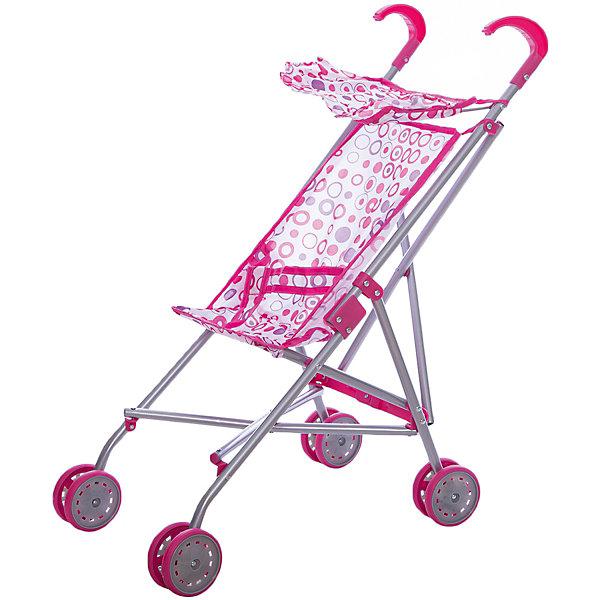 Коляска-трость для кукол, светлые кружочки, MeloboТранспорт и коляски для кукол<br>Характеристики:<br><br>• вид коляски: для кукол;<br>• тип складывания: трость;<br>• тип колес: сдвоенные, неповоротные;<br>• тип ручки: отдельные;<br>• комплектация: коляска-трость с козырьком и ремнем безопасности;<br>• материал: алюминий, пластик, текстиль;<br>• размер коляски: 52х26х55 см;<br>• размер упаковки: 65,5х27х28 см.<br><br>Прогулочная коляска для куколки превратит прогулки в удовольствие. Куколку или зверушку можно посадить в колясочку, пристегнуть ремнями безопасности (на липучке) и отправиться на прогулку. Коляска Melobo компактно складывается для транспортировки и хранения. <br><br>Коляску-трость для кукол, светлые кружочки, Melobo можно купить в нашем магазине.<br><br>Ширина мм: 650<br>Глубина мм: 90<br>Высота мм: 110<br>Вес г: 600<br>Возраст от месяцев: 36<br>Возраст до месяцев: 2147483647<br>Пол: Женский<br>Возраст: Детский<br>SKU: 5298991