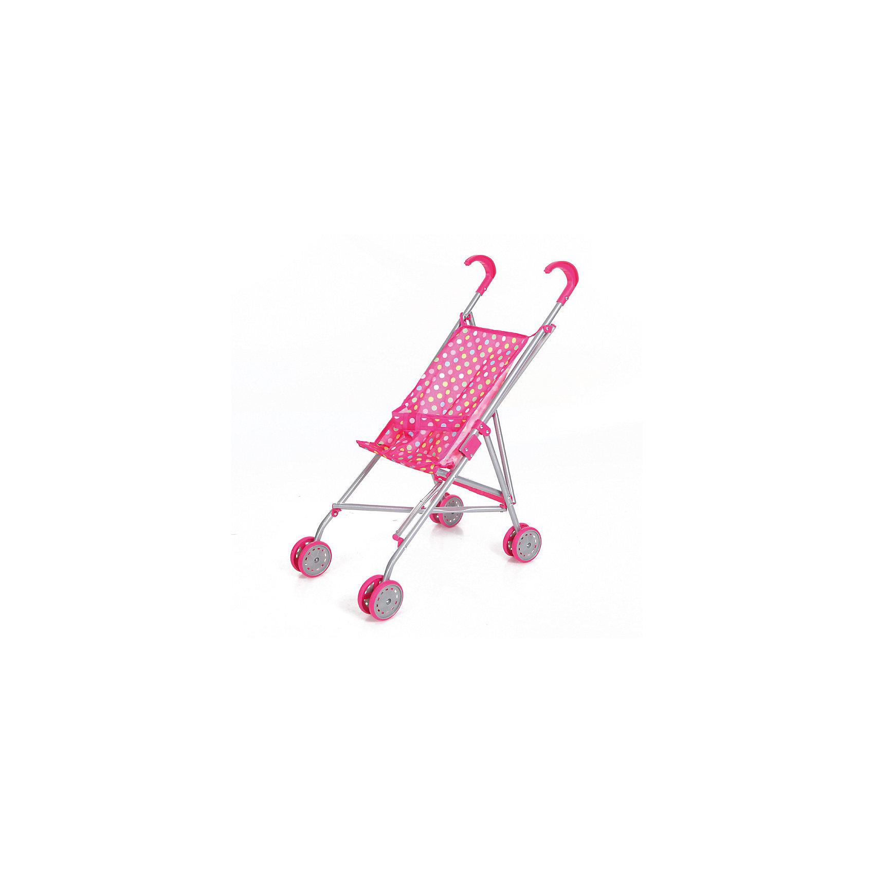 Коляска-трость для кукол, горошек, MeloboКоляски и транспорт для кукол<br>Характеристики:<br><br>• вид коляски: для кукол;<br>• тип складывания: трость;<br>• тип колес: сдвоенные, неповоротные;<br>• тип ручки: отдельные;<br>• комплектация: коляска-трость с ремнем безопасности;<br>• материал: алюминий, пластик, текстиль;<br>• размер коляски: 52х26х55 см;<br>• размер упаковки: 65,5х27х28 см.<br><br>Прогулочная коляска для куколки превратит прогулки в удовольствие. Куколку или зверушку можно посадить в колясочку, пристегнуть ремнями безопасности (на липучке) и отправиться на прогулку. Коляска Melobo компактно складывается для транспортировки и хранения. <br><br>Коляску-трость для кукол, горошек, Melobo можно купить в нашем магазине.<br><br>Ширина мм: 650<br>Глубина мм: 90<br>Высота мм: 110<br>Вес г: 600<br>Возраст от месяцев: 36<br>Возраст до месяцев: 2147483647<br>Пол: Женский<br>Возраст: Детский<br>SKU: 5298992