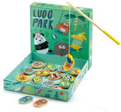 Развивающая игра Людопарк 4 в 1, DJECO