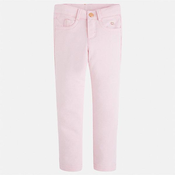 Леггинсы для девочки MayoralЛеггинсы<br>Характеристики товара:<br><br>• цвет: розовый<br>• состав: 95% хлопок, 5% эластан<br>• шлевки<br>• эластичный материал<br>• карманы<br>• приятный оттенок<br>• страна бренда: Испания<br><br>Модные леггинсы для девочки смогут разнообразить гардероб ребенка и украсить наряд. Они отлично сочетаются с майками, футболками, блузками. Красивый оттенок позволяет подобрать к вещи верх разных расцветок. В составе материала - натуральный хлопок, гипоаллергенный, приятный на ощупь, дышащий. Леггинсы отлично сидят и не стесняют движения.<br><br>Одежда, обувь и аксессуары от испанского бренда Mayoral полюбились детям и взрослым по всему миру. Модели этой марки - стильные и удобные. Для их производства используются только безопасные, качественные материалы и фурнитура. Порадуйте ребенка модными и красивыми вещами от Mayoral! <br><br>Леггинсы для девочки от испанского бренда Mayoral (Майорал) можно купить в нашем интернет-магазине.<br>Ширина мм: 123; Глубина мм: 10; Высота мм: 149; Вес г: 209; Цвет: розовый; Возраст от месяцев: 18; Возраст до месяцев: 24; Пол: Женский; Возраст: Детский; Размер: 92,134,128,122,116,110,104,98; SKU: 5300040;