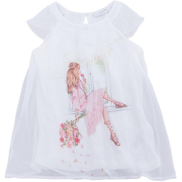 Блузка для девочки MayoralПлатья и сарафаны<br>Характеристики товара:<br><br>• цвет: молочный<br>• состав: 100% полиэстер<br>• подкладка: 100% вискоза<br>• плечи открыты<br>• пуговица сзади<br>• страна бренда: Испания<br><br>Симпатичная качественная блузка для девочки поможет разнообразить гардероб ребенка и украсить наряд. Интересная отделка модели делает её нарядной и оригинальной. <br><br>Блузку для девочки от испанского бренда Mayoral (Майорал) можно купить в нашем интернет-магазине.<br><br>Ширина мм: 186<br>Глубина мм: 87<br>Высота мм: 198<br>Вес г: 197<br>Цвет: бежевый<br>Возраст от месяцев: 108<br>Возраст до месяцев: 120<br>Пол: Женский<br>Возраст: Детский<br>Размер: 140,128/134,164,158,152<br>SKU: 5300856