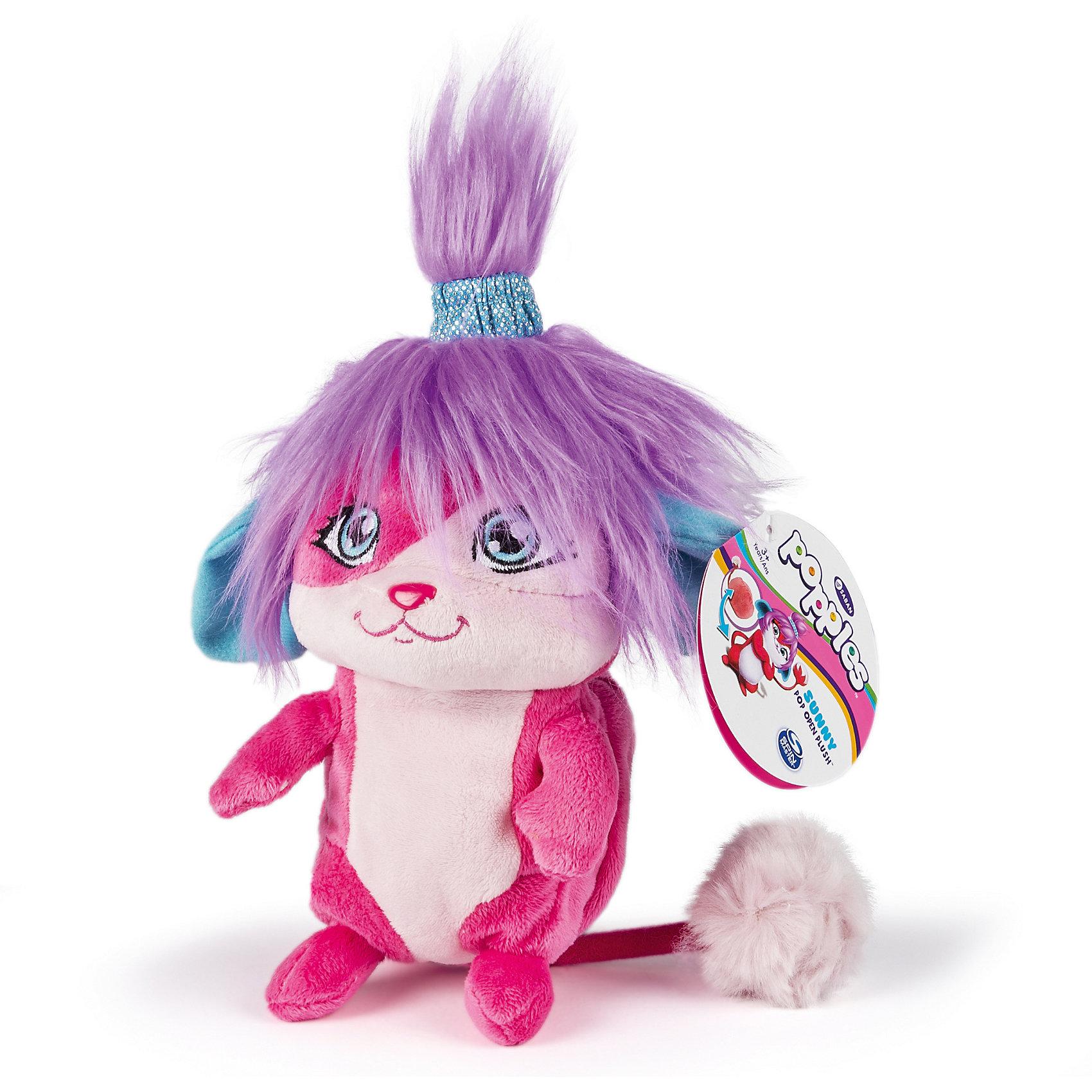 Мягкая игрушка Санни, 20 см, сворачивается в шар, PopplesМягкая игрушка Санни, 20 см, сворачивается в шар, Popples<br><br>Характеристика:<br><br>-Возраст: от 4 лет<br>-Для девочек <br>-Цвет: розовый с сиреневым<br>-Материал: плюш<br>-Размер: 20 см<br>-Марка: Popples<br><br>Мягкая игрушка Popples - это уникальная мягкая игрушка для детей. Игрушка по имени Санни имеет яркую окраску и необычную прическу. Самое интересное то, что она имеет небольшой кармашек, что позволяет превратить игрушку в небольшой шар. Благодаря этому ее легко брать на прогулку или в путешествие.<br><br>Мягкая игрушка Санни, 20 см, сворачивается в шар, Popples можно приобрести в нашем интернет-магазине.<br><br>Ширина мм: 80<br>Глубина мм: 230<br>Высота мм: 100<br>Вес г: 310<br>Возраст от месяцев: 36<br>Возраст до месяцев: 2147483647<br>Пол: Женский<br>Возраст: Детский<br>SKU: 5301637
