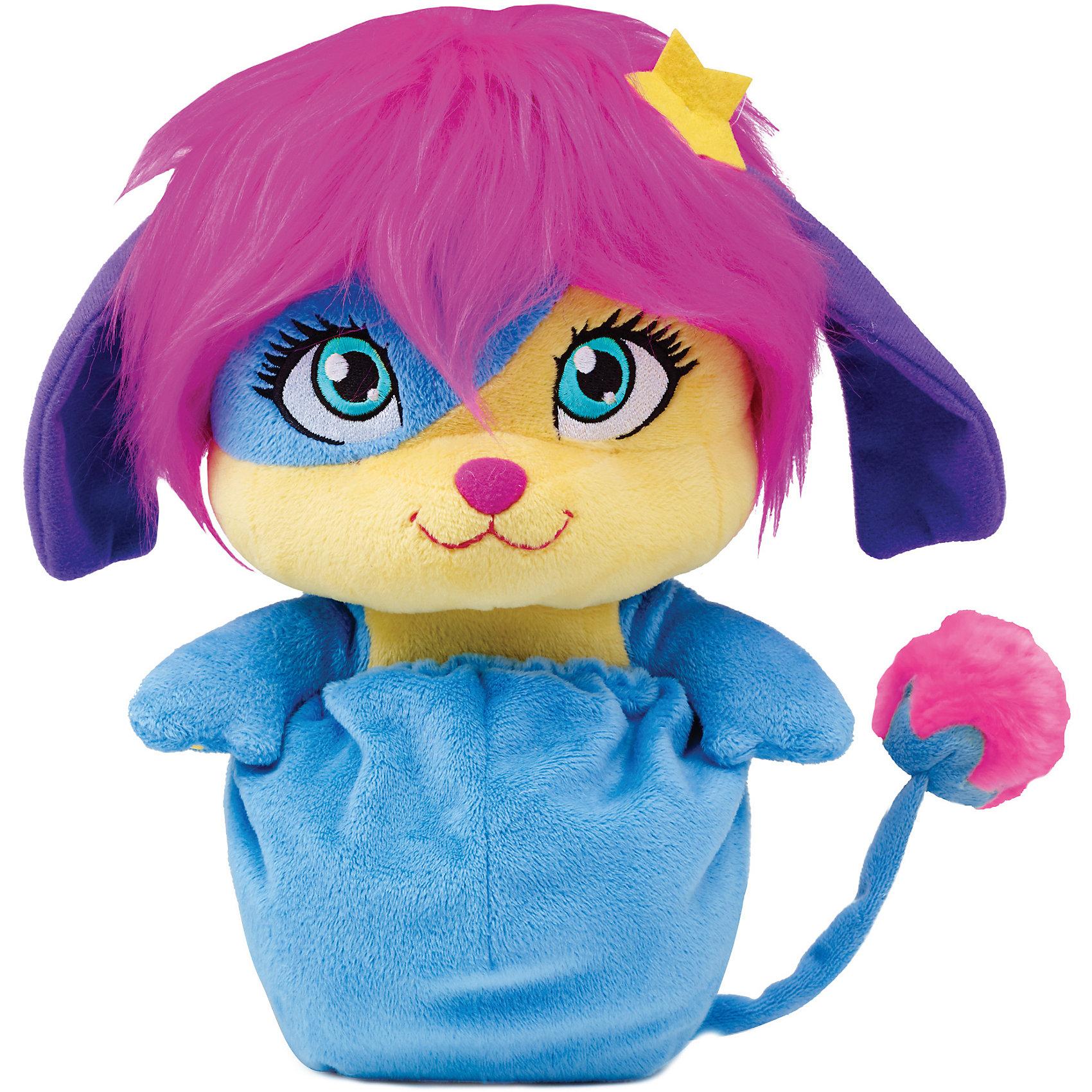 Мягкая игрушка Лулу, 20 см, сворачивается в шар, PopplesМягкие игрушки животные<br>Мягкая игрушка Лулу, 20 см, сворачивается в шар, Popples<br><br>Характеристика:<br><br>-Возраст: от 4 лет<br>-Для девочек <br>-Цвет: разноцветный<br>-Материал: плюш<br>-Размер: 20 см<br>-Марка: Popples<br><br>Мягкая игрушка Popples - это уникальная мягкая игрушка для детей. Игрушка по имени Лулу яркая и веселая. Самое интересное то, что она имеет небольшой кармашек, что позволяет превратить игрушку в небольшой шар. Благодаря этому ее легко брать на прогулку или в путешествие.<br><br>Мягкая игрушка Лулу, 20 см, сворачивается в шар, Popples можно приобрести в нашем интернет-магазине.<br><br>Ширина мм: 80<br>Глубина мм: 230<br>Высота мм: 100<br>Вес г: 310<br>Возраст от месяцев: 36<br>Возраст до месяцев: 2147483647<br>Пол: Женский<br>Возраст: Детский<br>SKU: 5301639