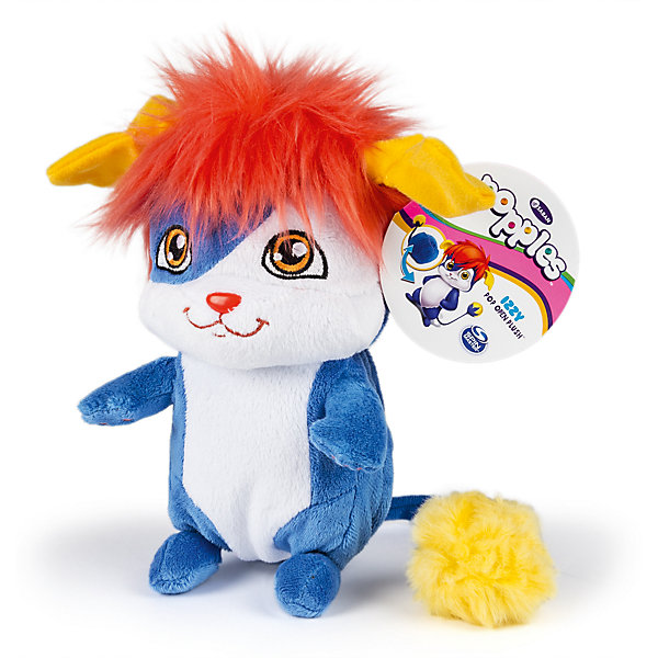 Купить Мягкая игрушка Изу , 20 см, сворачивается в шар, Popples, Spin Master, Китай, Женский