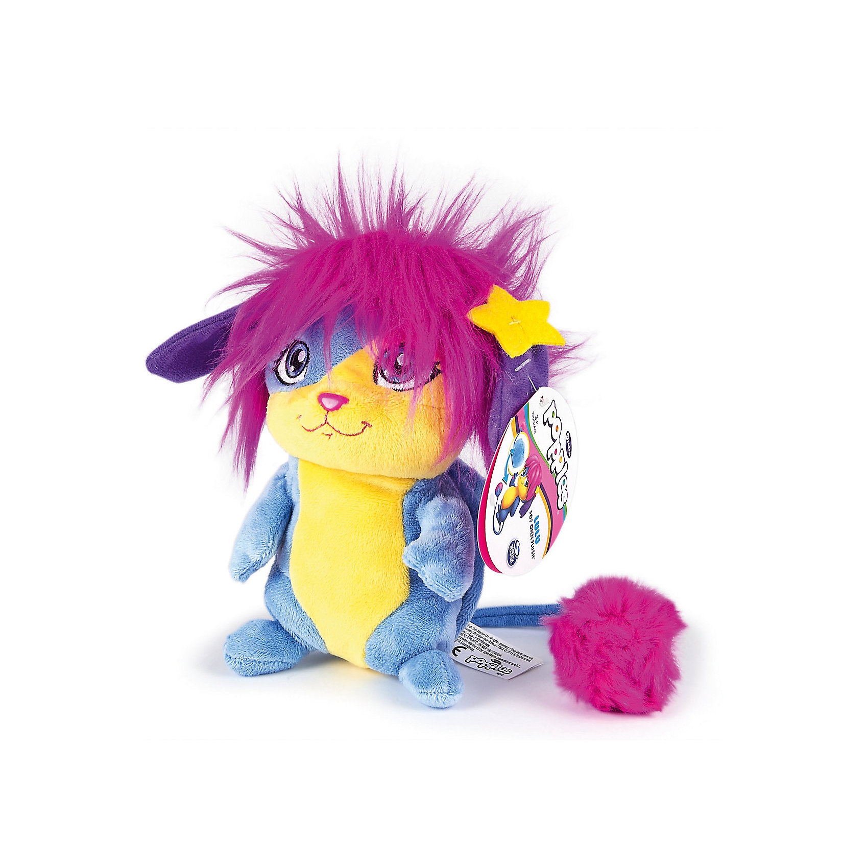 Мягкая игрушка Лулу, 28см, сворачивается в шар, PopplesМягкие игрушки животные<br>Мягкая игрушка Лулу, 28 см, сворачивается в шар, Popples<br><br>Характеристика:<br><br>-Возраст: от 4 лет<br>-Для девочек <br>-Цвет: розовый <br>-Материал: плюш<br>-Размер: 28 см<br>-Марка: Popples<br><br>Мягкая игрушка Popples - это уникальная мягкая игрушка для детей. Игрушка по имени Лулу яркая и веселая. Самое интересное то, что она имеет небольшой кармашек, что позволяет превратить игрушку в небольшой шар. Игрушку можно легко свернуть в небольшой плюшевый шарик, а затем вернуть ей привычную форму!<br><br>Мягкая игрушка Лулу, 28 см, сворачивается в шар, Popples можно приобрести в нашем интернет-магазине.<br><br>Ширина мм: 130<br>Глубина мм: 300<br>Высота мм: 200<br>Вес г: 750<br>Возраст от месяцев: 36<br>Возраст до месяцев: 2147483647<br>Пол: Женский<br>Возраст: Детский<br>SKU: 5301647