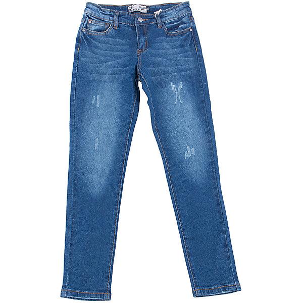 Джинсы для девочки SELAДжинсовая одежда<br>Характеристики товара:<br><br>• цвет: синий<br>• состав: 98% хлопок, 2% эластан<br>• имитация потертостей<br>• застежка - пуговица<br>• караманы<br>• шлевки<br>• сезон: демисезон<br>• страна бренда: Россия<br><br>Вещи из новой коллекции SELA продолжают радовать удобством! Стильные джинсы для девочки помогут разнообразить гардероб ребенка и стать базовой вещью. Они отлично сочетаются с блузками, футболками, куртками. <br><br>Одежда, обувь и аксессуары от российского бренда SELA не зря пользуются большой популярностью у детей и взрослых! Модели этой марки - стильные и удобные, цена при этом неизменно остается доступной. Для их производства используются только безопасные, качественные материалы и фурнитура. Новая коллекция поддерживает хорошие традиции бренда! <br><br>Брюки для девочки от популярного бренда SELA (СЕЛА) можно купить в нашем интернет-магазине.<br>Ширина мм: 215; Глубина мм: 88; Высота мм: 191; Вес г: 336; Цвет: синий деним; Возраст от месяцев: 60; Возраст до месяцев: 120; Пол: Женский; Возраст: Детский; Размер: 140,134,128,122,116,152,146; SKU: 5302068;