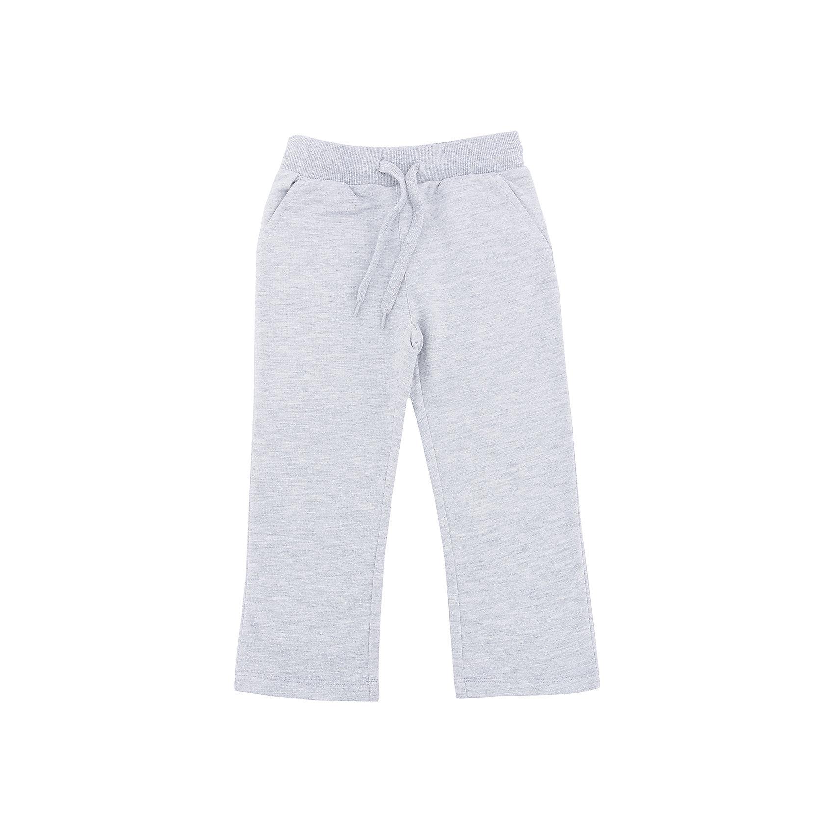 Брюки для мальчика SELAСпортивная одежда<br>Брюки для мальчика SELA (Села)<br><br>Характеристики:<br><br>• прямой силуэт<br>• состав: 60% хлопок, 40% полиэстер<br>• коллекция: весна 2017<br>• цвет: серый меланж<br><br>Брюки для мальчика от популярного бренда Sela изготовлены из высококачественных материалов. Брюки имеют прямой силуэт, резиночку на поясе, завязки и два кармана спереди. Модель хорошо сидит по фигуре, не сковывая движений ребенка. Отличный вариант для спортивных занятий или на каждый день!<br><br>Брюки для мальчика SELA (Села) вы можете купить в нашем интернет-магазине.<br><br>Ширина мм: 215<br>Глубина мм: 88<br>Высота мм: 191<br>Вес г: 336<br>Цвет: серый меланж<br>Возраст от месяцев: 60<br>Возраст до месяцев: 72<br>Пол: Мужской<br>Возраст: Детский<br>Размер: 116,92,98,104,110<br>SKU: 5302331