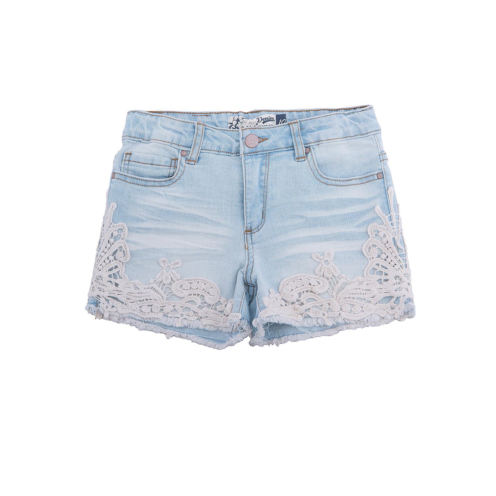 Шорты джинсовые для девочки SELAДжинсовая одежда<br>Шорты джинсовые для девочки от известного бренда SELA<br>Состав:<br>95% хлопок, 3% ПЭ, 2% эластан<br><br>Ширина мм: 191<br>Глубина мм: 10<br>Высота мм: 175<br>Вес г: 273<br>Цвет: голубой<br>Возраст от месяцев: 96<br>Возраст до месяцев: 108<br>Пол: Женский<br>Возраст: Детский<br>Размер: 134,140,146,152,122,128<br>SKU: 5303034