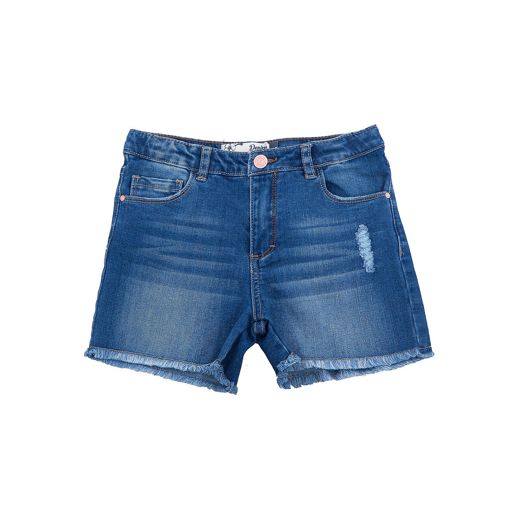 Шорты джинсовые для девочки SELAДжинсовая одежда<br>Шорты джинсовые для девочки от известного бренда SELA<br>Состав:<br>63% хлопок, 23% ПЭ, 12% вискоза, 2% эластан<br><br>Ширина мм: 191<br>Глубина мм: 10<br>Высота мм: 175<br>Вес г: 273<br>Цвет: синий<br>Возраст от месяцев: 96<br>Возраст до месяцев: 108<br>Пол: Женский<br>Возраст: Детский<br>Размер: 134,140,146,152,122,128<br>SKU: 5303041