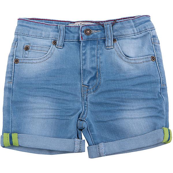Шорты джинсовые для мальчика SELAДжинсовая одежда<br>Характеристики товара:<br><br>• цвет: синий<br>• сезон: лето<br>• состав: 75% хлопок, 23% ПЭ, 2% эластан<br>• эффект потертостей<br>• застежка - пуговица<br>• карманы<br>• шлевки<br>• страна бренда: Россия<br><br>Вещи из новой коллекции SELA продолжают радовать удобством! Легкие шорты для мальчика  помогут разнообразить гардероб ребенка и обеспечить комфорт. <br><br>Одежда, обувь и аксессуары от российского бренда SELA не зря пользуются большой популярностью у детей и взрослых! Модели этой марки - стильные и удобные, цена при этом неизменно остается доступной. Для их производства используются только безопасные, качественные материалы и фурнитура. Новая коллекция поддерживает хорошие традиции бренда! <br><br>Шорты для мальчика от популярного бренда SELA (СЕЛА) можно купить в нашем интернет-магазине.<br><br>Ширина мм: 191<br>Глубина мм: 10<br>Высота мм: 175<br>Вес г: 273<br>Цвет: голубой<br>Возраст от месяцев: 18<br>Возраст до месяцев: 24<br>Пол: Мужской<br>Возраст: Детский<br>Размер: 92,116,110,104,98<br>SKU: 5303055