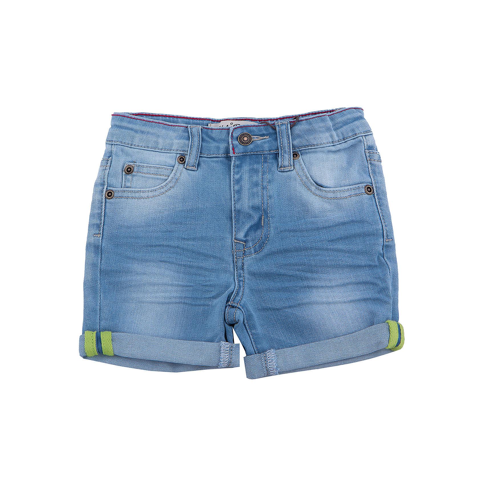 Шорты джинсовые для мальчика SELAДжинсовая одежда<br>Характеристики товара:<br><br>• цвет: синий<br>• сезон: лето<br>• состав: 75% хлопок, 23% ПЭ, 2% эластан<br>• эффект потертостей<br>• застежка - пуговица<br>• карманы<br>• шлевки<br>• страна бренда: Россия<br><br>Вещи из новой коллекции SELA продолжают радовать удобством! Легкие шорты для мальчика  помогут разнообразить гардероб ребенка и обеспечить комфорт. <br><br>Одежда, обувь и аксессуары от российского бренда SELA не зря пользуются большой популярностью у детей и взрослых! Модели этой марки - стильные и удобные, цена при этом неизменно остается доступной. Для их производства используются только безопасные, качественные материалы и фурнитура. Новая коллекция поддерживает хорошие традиции бренда! <br><br>Шорты для мальчика от популярного бренда SELA (СЕЛА) можно купить в нашем интернет-магазине.<br><br>Ширина мм: 191<br>Глубина мм: 10<br>Высота мм: 175<br>Вес г: 273<br>Цвет: голубой<br>Возраст от месяцев: 18<br>Возраст до месяцев: 24<br>Пол: Мужской<br>Возраст: Детский<br>Размер: 92,116,98,104,110<br>SKU: 5303055