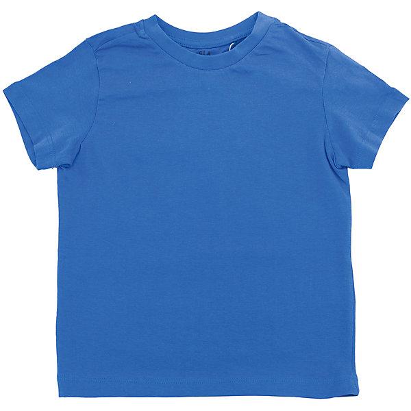 Футболка  для мальчика SELAФутболки, поло и топы<br>Характеристики товара:<br><br>• цвет: синий<br>• состав: 100% хлопок<br>• однотонная<br>• короткие рукава<br>• округлый горловой вырез<br>• коллекция весна-лето 2017<br>• страна бренда: Российская Федерация<br><br>В новой коллекции SELA отличные модели одежды! Эта футболка для мальчика поможет разнообразить гардероб ребенка и обеспечить комфорт. Она отлично сочетается с джинсами и брюками. Удобная базовая вещь!<br><br>Одежда, обувь и аксессуары от российского бренда SELA не зря пользуются большой популярностью у детей и взрослых! Модели этой марки - стильные и удобные, цена при этом неизменно остается доступной. Для их производства используются только безопасные, качественные материалы и фурнитура. Новая коллекция поддерживает хорошие традиции бренда! <br><br>Футболку для мальчика от популярного бренда SELA (СЕЛА) можно купить в нашем интернет-магазине.<br><br>Ширина мм: 230<br>Глубина мм: 40<br>Высота мм: 220<br>Вес г: 250<br>Цвет: синий<br>Возраст от месяцев: 24<br>Возраст до месяцев: 36<br>Пол: Мужской<br>Возраст: Детский<br>Размер: 98,92,116,110,104<br>SKU: 5303917