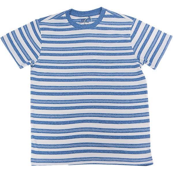Футболка  для мальчика SELAФутболки, поло и топы<br>Характеристики товара:<br><br>• цвет: синий<br>• состав: 100% хлопок<br>• принт<br>• короткие рукава<br>• округлый горловой вырез<br>• страна бренда: Российская Федерация<br><br>В новой коллекции SELA отличные модели одежды! Эта футболка для мальчика поможет разнообразить гардероб ребенка и обеспечить комфорт. Она отлично сочетается с джинсами и брюками. Удобная базовая вещь!<br><br>Футболку для мальчика от популярного бренда SELA (СЕЛА) можно купить в нашем интернет-магазине.<br>Ширина мм: 230; Глубина мм: 40; Высота мм: 220; Вес г: 250; Цвет: синий; Возраст от месяцев: 96; Возраст до месяцев: 108; Пол: Мужской; Возраст: Детский; Размер: 134,122,140,146,152,116,128; SKU: 5304073;