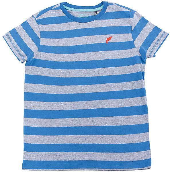 Футболка для мальчика SELAФутболки, поло и топы<br>Характеристики товара:<br><br>• цвет: индиго в полоску<br>• сезон: лето<br>• рукава короткие<br>• округлый горловой вырез<br>• страна бренда: Россия<br><br>Вещи из новой коллекции SELA продолжают радовать удобством! Эта футболка для мальчика поможет разнообразить гардероб ребенка и обеспечить комфорт. Она отлично сочетается с шортами и брюками. Стильная и удобная вещь!<br><br>Футболку для мальчика от популярного бренда SELA (СЕЛА) можно купить в нашем интернет-магазине.<br>Ширина мм: 230; Глубина мм: 40; Высота мм: 220; Вес г: 250; Цвет: синий; Возраст от месяцев: 108; Возраст до месяцев: 120; Пол: Мужской; Возраст: Детский; Размер: 140,134,146,152,122,128; SKU: 5304116;