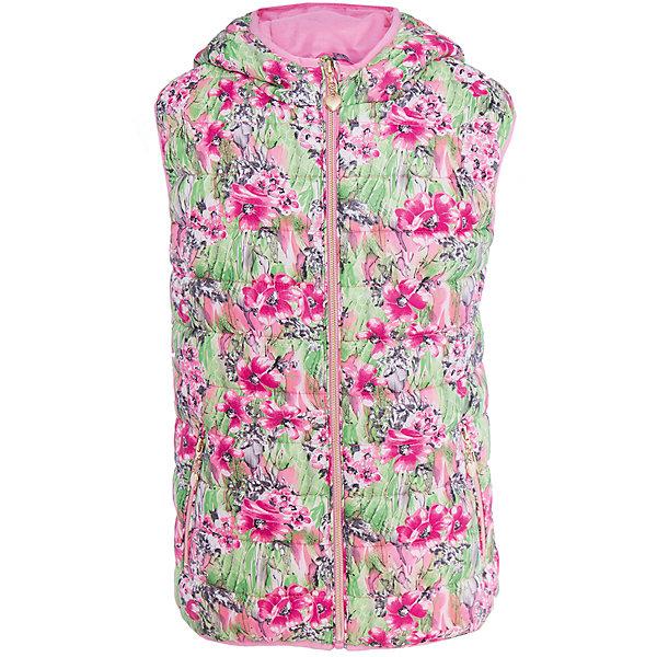Жилет для девочки SELAВерхняя одежда<br>Характеристики товара:<br><br>• цвет: зеленый/розовый<br>• состав: 100% полиэстер<br>• температурный режим: от +20°до +10°С<br>• принт<br>• яркая подкладка<br>• капюшон (не отстёгивается)<br>• карманы<br>• молния<br>• коллекция весна-лето 2017<br>• страна бренда: Российская Федерация<br><br>Вещи из новой коллекции SELA продолжают радовать удобством! Стильный жилет для девочки поможет разнообразить гардероб ребенка и обеспечить комфорт. Он отлично сочетается с юбками и брюками. Отличается оригинальным принтом.<br><br>Одежда, обувь и аксессуары от российского бренда SELA не зря пользуются большой популярностью у детей и взрослых! Модели этой марки - стильные и удобные, цена при этом неизменно остается доступной. Для их производства используются только безопасные, качественные материалы и фурнитура. Новая коллекция поддерживает хорошие традиции бренда! <br><br>Джемпер для девочки от популярного бренда SELA (СЕЛА) можно купить в нашем интернет-магазине.<br><br>Ширина мм: 190<br>Глубина мм: 74<br>Высота мм: 229<br>Вес г: 236<br>Цвет: белый<br>Возраст от месяцев: 60<br>Возраст до месяцев: 72<br>Пол: Женский<br>Возраст: Детский<br>Размер: 116,140,128,152<br>SKU: 5304817