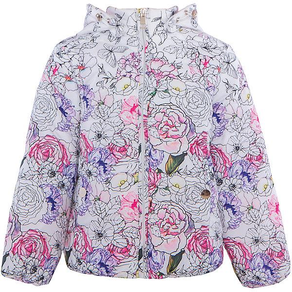 Куртка для девочки SELAВерхняя одежда<br>Характеристики:<br><br>• Вид детской и подростковой одежды: куртка<br>• Пол: для девочки<br>• Предназначение: повседневная<br>• Сезон: демисезон<br>• Температурный режим: до -5? С<br>• Тематика рисунка: цветы<br>• Цвет: белый принт<br>• Материал: полиэстер 100%, утеплитель – полиэстер, 100%<br>• Силуэт: полуприлегающий<br>• Длина куртки: до середины бедра<br>• Капюшон: втачной, с карабинами<br>• Застежка: молния, спереди<br>• Особенности ухода: допускается щадящая стирка и химчистка<br><br>Куртка для девочки SELA из коллекции детской и подростковой одежды от знаменитого торгового бренда, который производит удобную, комфортную и стильную одежду, предназначенную как для будней, так и для праздников. Куртка выполнена из полиэстера, который обладает влагонепроницаемыми и ветрозащитными свойствами. Трикотажный подклад обеспечивает поддержание комфортной температуры. Длина куртки – средняя, что защищает спину от продувания. Спереди имеется застежка на молнии и втачной капюшон, ширина которого регулируется карабинами. Курточка для девочки выполнена в ярком оригинальном дизайне: цветочный крупный принт придает изделию особое очарование. <br><br>Куртку для девочки SELA можно купить в нашем интернет-магазине.<br>Состав:<br>100% ПЭ<br>Ширина мм: 356; Глубина мм: 10; Высота мм: 245; Вес г: 519; Цвет: белый; Возраст от месяцев: 24; Возраст до месяцев: 36; Пол: Женский; Возраст: Детский; Размер: 98,116,110,104; SKU: 5305093;