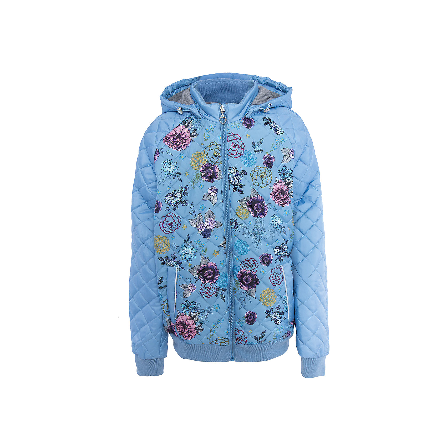 Куртка для девочки SELAВерхняя одежда<br>Характеристики товара:<br><br>• цвет: голубой<br>• состав: 100% полиэстер<br>• температурный режим: от +5°до +15°С<br>• подкладка: текстиль, хлопок<br>• утемлитель: полиэстер<br>• сезон: весна-лето<br>• покрой: полуприлегающий<br>• молния<br>• принт<br>• манжеты<br>• капюшон отстегивается<br>• карманы<br>• коллекция весна-лето 2017<br>• страна бренда: Российская Федерация<br>• страна изготовитель: Китай<br><br>Вещи из новой коллекции SELA продолжают радовать удобством! Легкая куртка для девочки поможет разнообразить гардероб ребенка и обеспечить комфорт. Она отлично сочетается с юбками и брюками. Очень стильно смотрится!<br><br>Одежда, обувь и аксессуары от российского бренда SELA не зря пользуются большой популярностью у детей и взрослых! Модели этой марки - стильные и удобные, цена при этом неизменно остается доступной. Для их производства используются только безопасные, качественные материалы и фурнитура. Новая коллекция поддерживает хорошие традиции бренда! <br><br>Куртку для девочки от популярного бренда SELA (СЕЛА) можно купить в нашем интернет-магазине.<br><br>Ширина мм: 356<br>Глубина мм: 10<br>Высота мм: 245<br>Вес г: 519<br>Цвет: голубой<br>Возраст от месяцев: 84<br>Возраст до месяцев: 96<br>Пол: Женский<br>Возраст: Детский<br>Размер: 128,140,152,116<br>SKU: 5305108