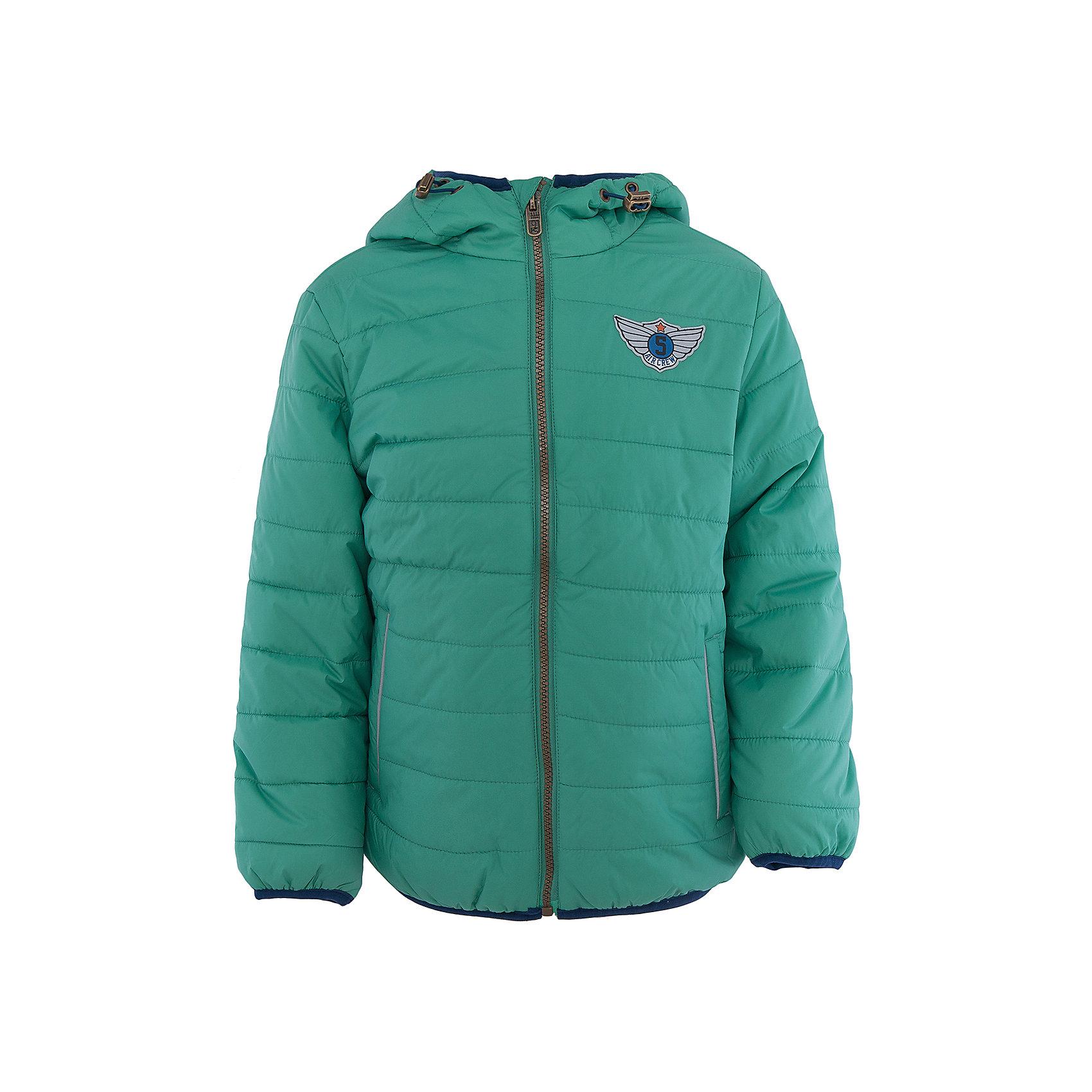 Куртка для мальчика SELAХарактеристики:<br><br>• Вид детской и подростковой одежды: куртка<br>• Пол: для мальчика<br>• Предназначение: повседневная<br>• Сезон: демисезон<br>• Температурный режим: до -5? С<br>• Тематика рисунка: без рисунка<br>• Цвет: зеленый<br>• Материал: нейлон 100%, подклад – хлопок, 50%, утеплитель – полиэстер, 100%<br>• Силуэт: прямой<br>• Длина куртки: до середины бедра<br>• Капюшон: притачной, с карабинами<br>• Застежка: молния, спереди<br>• Спереди имеются карманы на молнии<br>• Особенности ухода: допускается щадящая стирка и химчистка<br><br>Куртка для мальчика SELA из коллекции детской и подростковой одежды от знаменитого торгового бренда, который производит удобную, комфортную и стильную одежду, предназначенную как для будней, так и для праздников. Куртка выполнена из нейлона, который обладает влагонепроницаемыми и ветрозащитными свойствами. Трикотажный подклад обеспечивает поддержание комфортной температуры. Длина куртки – средняя, что защищает спину от продувания. Спереди имеется застежка на молнии и два кармана. Притачной капюшон с регулируемой шириной и трикотажная окантовка изделия создают стильный дизайн. Стеганая курточка выполнена в холодном зеленом цвете. <br><br>Куртку для мальчика SELA можно купить в нашем интернет-магазине.<br><br>Ширина мм: 356<br>Глубина мм: 10<br>Высота мм: 245<br>Вес г: 519<br>Цвет: зеленый<br>Возраст от месяцев: 60<br>Возраст до месяцев: 72<br>Пол: Мужской<br>Возраст: Детский<br>Размер: 116,98,104,110<br>SKU: 5305118