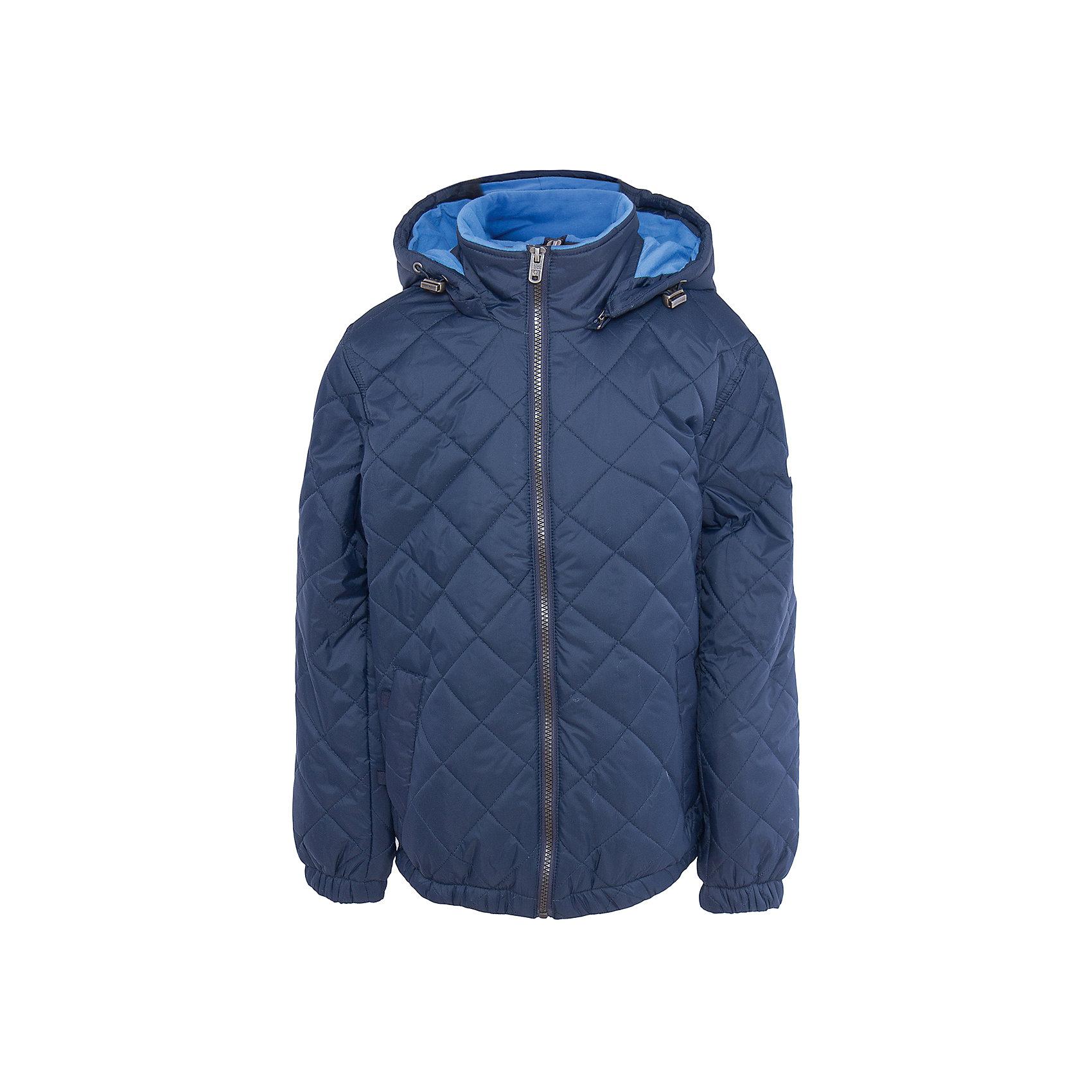Куртка для мальчика SELAВерхняя одежда<br>Характеристики товара:<br><br>• цвет: тёмно-синий<br>• состав: 100% нейлон<br>• температурный режим: от +5°до +15°С<br>• подкладка: 100% хлопок<br>• утеплитель: 100% полиэстер<br>• демисезон<br>• воротник-стойка<br>• молния<br>• стеганая<br>• капюшон с кулиской<br>• капюшон съёмный<br>• два кармана на кнопках<br>• коллекция весна-лето 2017<br>• страна бренда: Российская Федерация<br>• страна производитель: Китай<br><br>Вещи из новой коллекции SELA продолжают радовать удобством! Легкая куртка для мальчика поможет разнообразить гардероб ребенка и обеспечить комфорт. Она отлично сочетается с джинсами и брюками. Очень стильно смотрится!<br><br>Одежда, обувь и аксессуары от российского бренда SELA не зря пользуются большой популярностью у детей и взрослых! Модели этой марки - стильные и удобные, цена при этом неизменно остается доступной. Для их производства используются только безопасные, качественные материалы и фурнитура. Новая коллекция поддерживает хорошие традиции бренда! <br><br>Куртку для мальчика от популярного бренда SELA (СЕЛА) можно купить в нашем интернет-магазине.<br><br>Ширина мм: 356<br>Глубина мм: 10<br>Высота мм: 245<br>Вес г: 519<br>Цвет: синий<br>Возраст от месяцев: 108<br>Возраст до месяцев: 120<br>Пол: Мужской<br>Возраст: Детский<br>Размер: 140,152,116,128<br>SKU: 5305143
