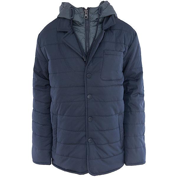 Куртка для мальчика SELAВерхняя одежда<br>Характеристики:<br><br>• Вид детской и подростковой одежды: куртка<br>• Пол: для мальчика<br>• Предназначение: повседневная<br>• Сезон: демисезон<br>• Температурный режим: до -5? С<br>• Тематика рисунка: без рисунка<br>• Цвет: темно-синий<br>• Материал: полиэстер 100%, утеплитель – полиэстер, 100%<br>• Силуэт: прямой<br>• Длина куртки: до середины бедра<br>• Капюшон: притачной, с карабинами и молнией<br>• Воротник: отложной, пиджачного типа<br>• Застежка: пуговицы, спереди<br>• Спереди имеются карманы <br>• Особенности ухода: допускается щадящая стирка и химчистка<br><br>Куртка для мальчика SELA из коллекции детской и подростковой одежды от знаменитого торгового бренда, который производит удобную, комфортную и стильную одежду, предназначенную как для будней, так и для праздников. Куртка выполнена из полиэстера, который обладает влагонепроницаемыми и ветрозащитными свойствами. Утеплитель и подклад обеспечивает поддержание комфортной температуры. Длина куртки – средняя, что защищает спину от продувания. Спереди имеется застежка на на пуговицах и карманы. Особый стилевой дизайн куртке придают отложной воротник пиджачного типа и капюшон контрастного цвета с застежкой молнией. Стеганая курточка выполнена в классическом темно-синем цвете. <br><br>Куртку для мальчика SELA можно купить в нашем интернет-магазине.<br><br>Ширина мм: 356<br>Глубина мм: 10<br>Высота мм: 245<br>Вес г: 519<br>Цвет: синий<br>Возраст от месяцев: 60<br>Возраст до месяцев: 72<br>Пол: Мужской<br>Возраст: Детский<br>Размер: 116,140,128,152<br>SKU: 5305153