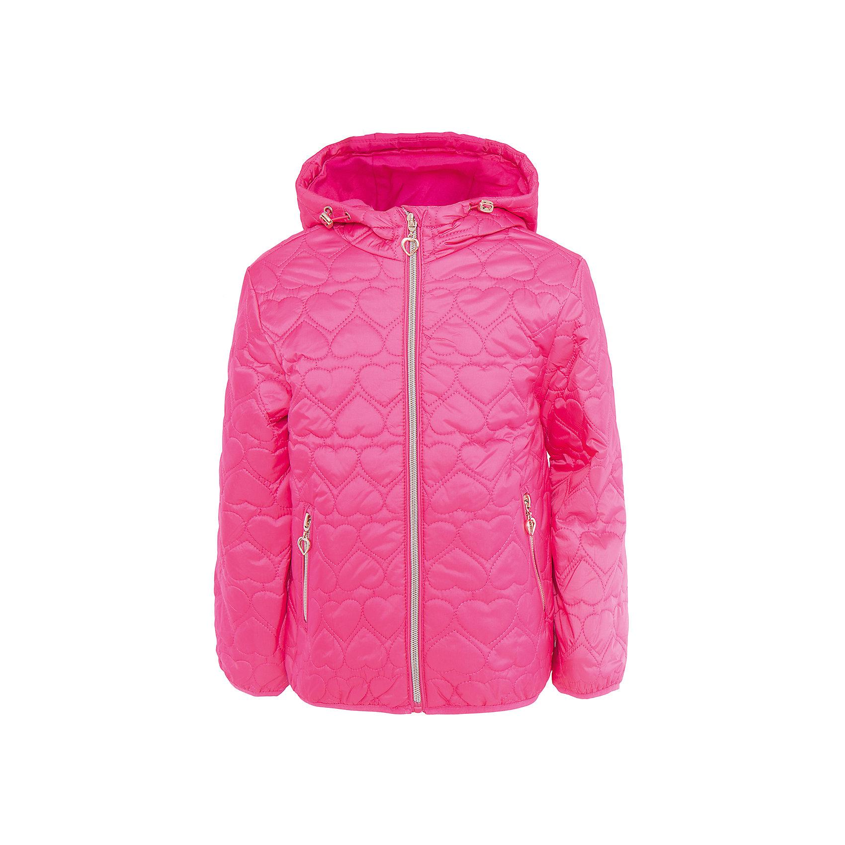 Куртка для девочки SELAВерхняя одежда<br>Характеристики товара:<br><br>• цвет: розовый<br>• состав: 100% нейлон; утеплитель: 100% ПЭ; подкладка: 100% хлопок; подкладка рукава: 100% ПЭ<br>• температурный режим: от +5°до +15°С<br>• покрой: полуприлегающий<br>• демисезон<br>• молния<br>• фактурный узор<br>• капюшон не отстёгивается<br>• два прирезных кармана на молнии<br>• коллекция весна-лето 2017<br>• страна бренда: Российская Федерация<br>• страна производитель: Китай<br><br>Вещи из новой коллекции SELA продолжают радовать удобством! Легкая куртка для девочки поможет разнообразить гардероб ребенка и обеспечить комфорт. Она отлично сочетается с юбками и брюками. Очень стильно смотрится!<br><br>Одежда, обувь и аксессуары от российского бренда SELA не зря пользуются большой популярностью у детей и взрослых! Модели этой марки - стильные и удобные, цена при этом неизменно остается доступной. Для их производства используются только безопасные, качественные материалы и фурнитура. Новая коллекция поддерживает хорошие традиции бренда! <br><br>Куртку для девочки от популярного бренда SELA (СЕЛА) можно купить в нашем интернет-магазине.<br><br>Ширина мм: 356<br>Глубина мм: 10<br>Высота мм: 245<br>Вес г: 519<br>Цвет: розовый<br>Возраст от месяцев: 60<br>Возраст до месяцев: 72<br>Пол: Женский<br>Возраст: Детский<br>Размер: 116,98,104,110<br>SKU: 5305158
