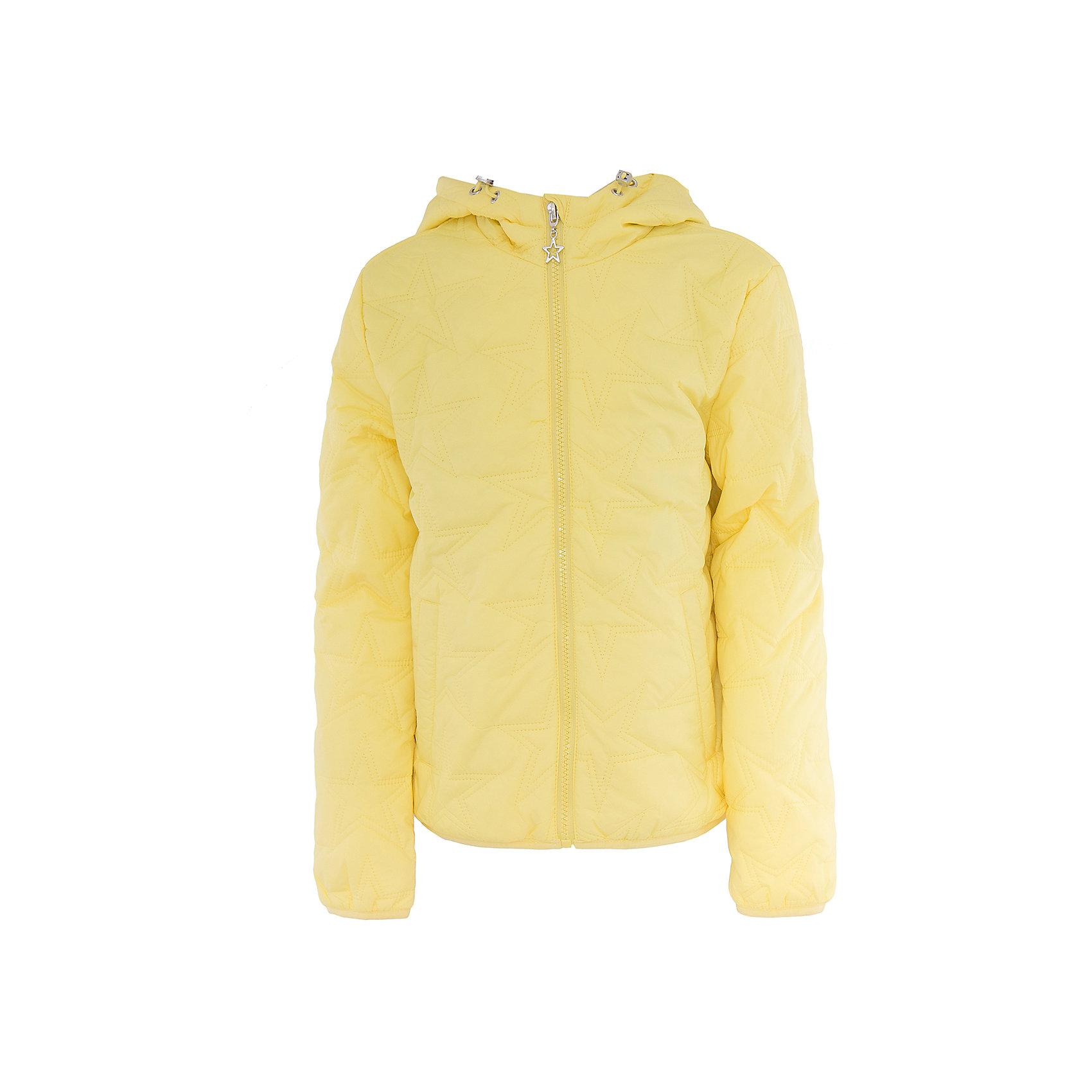 Куртка для девочки SELAВерхняя одежда<br>Характеристики товара:<br><br>• цвет: желтый<br>• состав: 100% нейлон; утеплитель: 100% ПЭ; подкладка: 100% хлопок; подкладка рукава: 100% ПЭ<br>• температурный режим: от +5°до +15°С<br>• демисезон<br>• прямой силуэт<br>• молния<br>• фактурный узор<br>• капюшон не отстёгивается<br>• капюшон дополнен эластичным шнурком со стопперами<br>• два втачных кармана на кнопках<br>• внутренний накладной карман<br>• светоотражающие элементы<br>• коллекция весна-лето 2017<br>• страна бренда: Российская Федерация<br><br>Вещи из новой коллекции SELA продолжают радовать удобством! Легкая куртка для девочки поможет разнообразить гардероб ребенка и обеспечить комфорт. Она отлично сочетается с юбками и брюками. Очень стильно смотрится!<br><br>Одежда, обувь и аксессуары от российского бренда SELA не зря пользуются большой популярностью у детей и взрослых! Модели этой марки - стильные и удобные, цена при этом неизменно остается доступной. Для их производства используются только безопасные, качественные материалы и фурнитура. Новая коллекция поддерживает хорошие традиции бренда! <br><br>Куртку для девочки от популярного бренда SELA (СЕЛА) можно купить в нашем интернет-магазине.<br><br>Ширина мм: 356<br>Глубина мм: 10<br>Высота мм: 245<br>Вес г: 519<br>Цвет: желтый<br>Возраст от месяцев: 60<br>Возраст до месяцев: 72<br>Пол: Женский<br>Возраст: Детский<br>Размер: 116,128,140,152<br>SKU: 5305168
