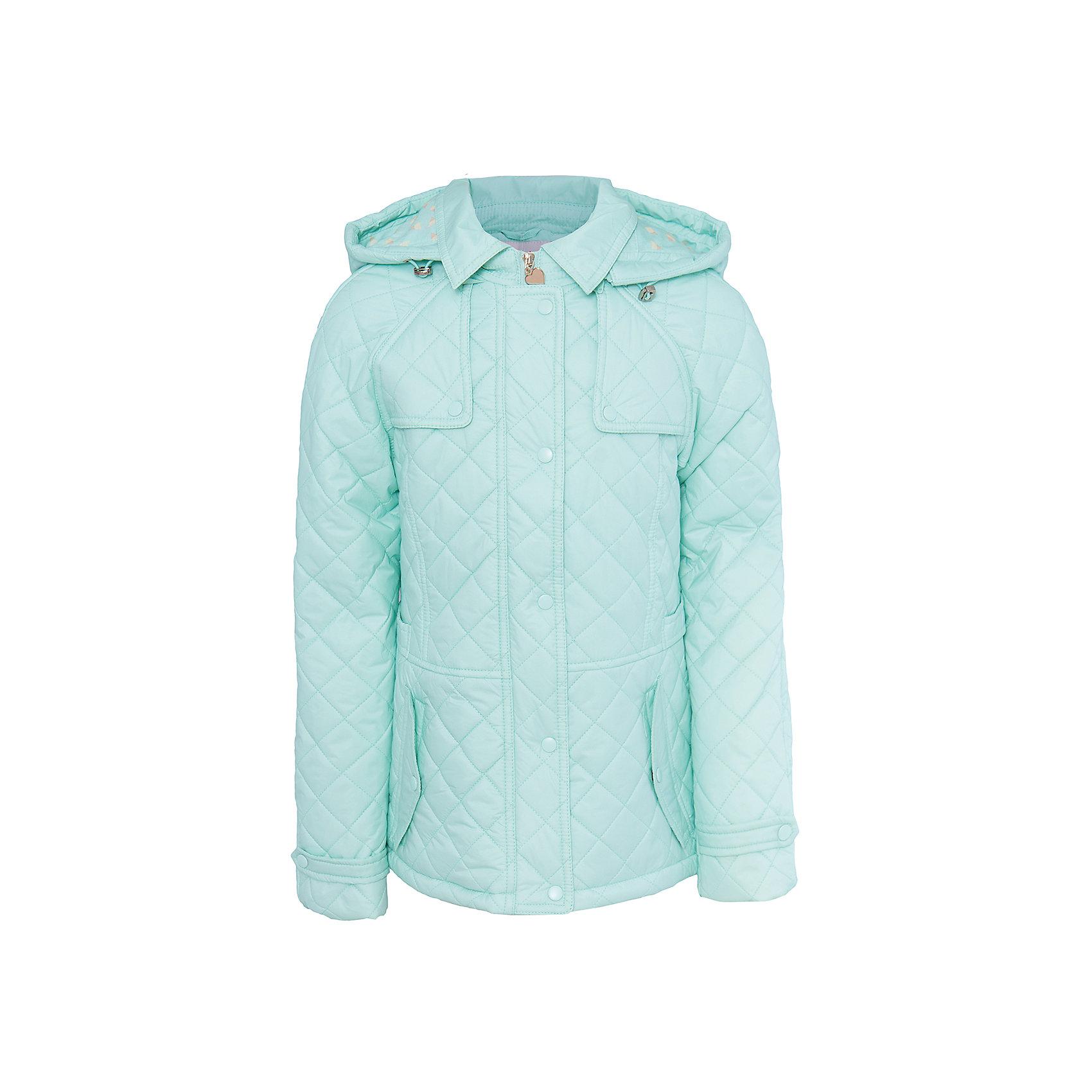 Куртка для девочки SELAВерхняя одежда<br>Характеристики товара:<br><br>• цвет: зеленый<br>• состав: 100% ПА; подкладка: 90% ПЭ, 10% хлопок; подкладка рукава: 100% ПЭ; утеплитель: 100% ПЭ<br>• температурный режим: от +5°до +15°С<br>• демисезон<br>• силуэт полуприлегающий<br>• отложной воротник<br>• молния<br>• планка от ветра<br>• стеганая<br>• съёмный капюшон дополнен кулиской<br>• два кармана на кнопках<br>• коллекция весна-лето 2017<br>• страна бренда: Российская Федерация<br>• страна изготовитель: Китай<br><br>Вещи из новой коллекции SELA продолжают радовать удобством! Легкая куртка для девочки поможет разнообразить гардероб ребенка и обеспечить комфорт. Она отлично сочетается с юбками и брюками. Очень стильно смотрится!<br><br>Одежда, обувь и аксессуары от российского бренда SELA не зря пользуются большой популярностью у детей и взрослых! Модели этой марки - стильные и удобные, цена при этом неизменно остается доступной. Для их производства используются только безопасные, качественные материалы и фурнитура. Новая коллекция поддерживает хорошие традиции бренда! <br><br>Куртку для девочки от популярного бренда SELA (СЕЛА) можно купить в нашем интернет-магазине.<br><br>Ширина мм: 356<br>Глубина мм: 10<br>Высота мм: 245<br>Вес г: 519<br>Цвет: зеленый<br>Возраст от месяцев: 84<br>Возраст до месяцев: 96<br>Пол: Женский<br>Возраст: Детский<br>Размер: 128,140,152,116<br>SKU: 5305173