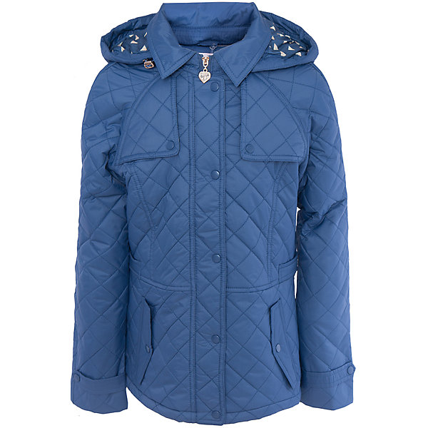 Куртка для девочки SELAВерхняя одежда<br>Характеристики товара:<br><br>• цвет: синий<br>• состав: 100% ПА; подкладка: 90% ПЭ, 10% хлопок; подкладка рукава: 100% ПЭ; утеплитель: 100% ПЭ<br>• температурный режим: от +5°до +15°С<br>• демисезон<br>• силуэт полуприлегающий<br>• отложной воротник<br>• молния<br>• планка от ветра<br>• стеганая<br>• съёмный капюшон дополнен кулиской<br>• два кармана на кнопках<br>• коллекция весна-лето 2017<br>• страна бренда: Российская Федерация<br>• страна изготовитель: Китай<br><br>Вещи из новой коллекции SELA продолжают радовать удобством! Легкая куртка для девочки поможет разнообразить гардероб ребенка и обеспечить комфорт. Она отлично сочетается с юбками и брюками. Очень стильно смотрится!<br><br>Одежда, обувь и аксессуары от российского бренда SELA не зря пользуются большой популярностью у детей и взрослых! Модели этой марки - стильные и удобные, цена при этом неизменно остается доступной. Для их производства используются только безопасные, качественные материалы и фурнитура. Новая коллекция поддерживает хорошие традиции бренда! <br><br>Куртку для девочки от популярного бренда SELA (СЕЛА) можно купить в нашем интернет-магазине.<br>Ширина мм: 356; Глубина мм: 10; Высота мм: 245; Вес г: 519; Цвет: синий; Возраст от месяцев: 60; Возраст до месяцев: 72; Пол: Женский; Возраст: Детский; Размер: 116,128,140,152; SKU: 5305178;