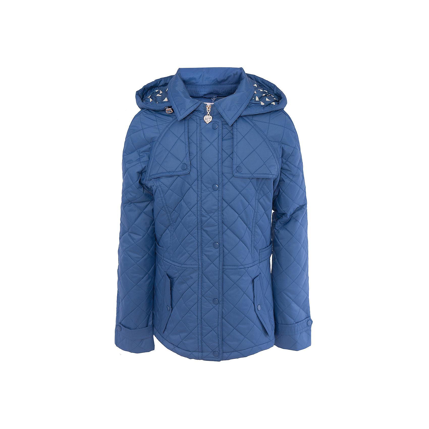 Куртка для девочки SELAВерхняя одежда<br>Характеристики товара:<br><br>• цвет: синий<br>• состав: 100% ПА; подкладка: 90% ПЭ, 10% хлопок; подкладка рукава: 100% ПЭ; утеплитель: 100% ПЭ<br>• температурный режим: от +5°до +15°С<br>• демисезон<br>• силуэт полуприлегающий<br>• отложной воротник<br>• молния<br>• планка от ветра<br>• стеганая<br>• съёмный капюшон дополнен кулиской<br>• два кармана на кнопках<br>• коллекция весна-лето 2017<br>• страна бренда: Российская Федерация<br>• страна изготовитель: Китай<br><br>Вещи из новой коллекции SELA продолжают радовать удобством! Легкая куртка для девочки поможет разнообразить гардероб ребенка и обеспечить комфорт. Она отлично сочетается с юбками и брюками. Очень стильно смотрится!<br><br>Одежда, обувь и аксессуары от российского бренда SELA не зря пользуются большой популярностью у детей и взрослых! Модели этой марки - стильные и удобные, цена при этом неизменно остается доступной. Для их производства используются только безопасные, качественные материалы и фурнитура. Новая коллекция поддерживает хорошие традиции бренда! <br><br>Куртку для девочки от популярного бренда SELA (СЕЛА) можно купить в нашем интернет-магазине.<br><br>Ширина мм: 356<br>Глубина мм: 10<br>Высота мм: 245<br>Вес г: 519<br>Цвет: синий<br>Возраст от месяцев: 84<br>Возраст до месяцев: 96<br>Пол: Женский<br>Возраст: Детский<br>Размер: 128,140,152,116<br>SKU: 5305178