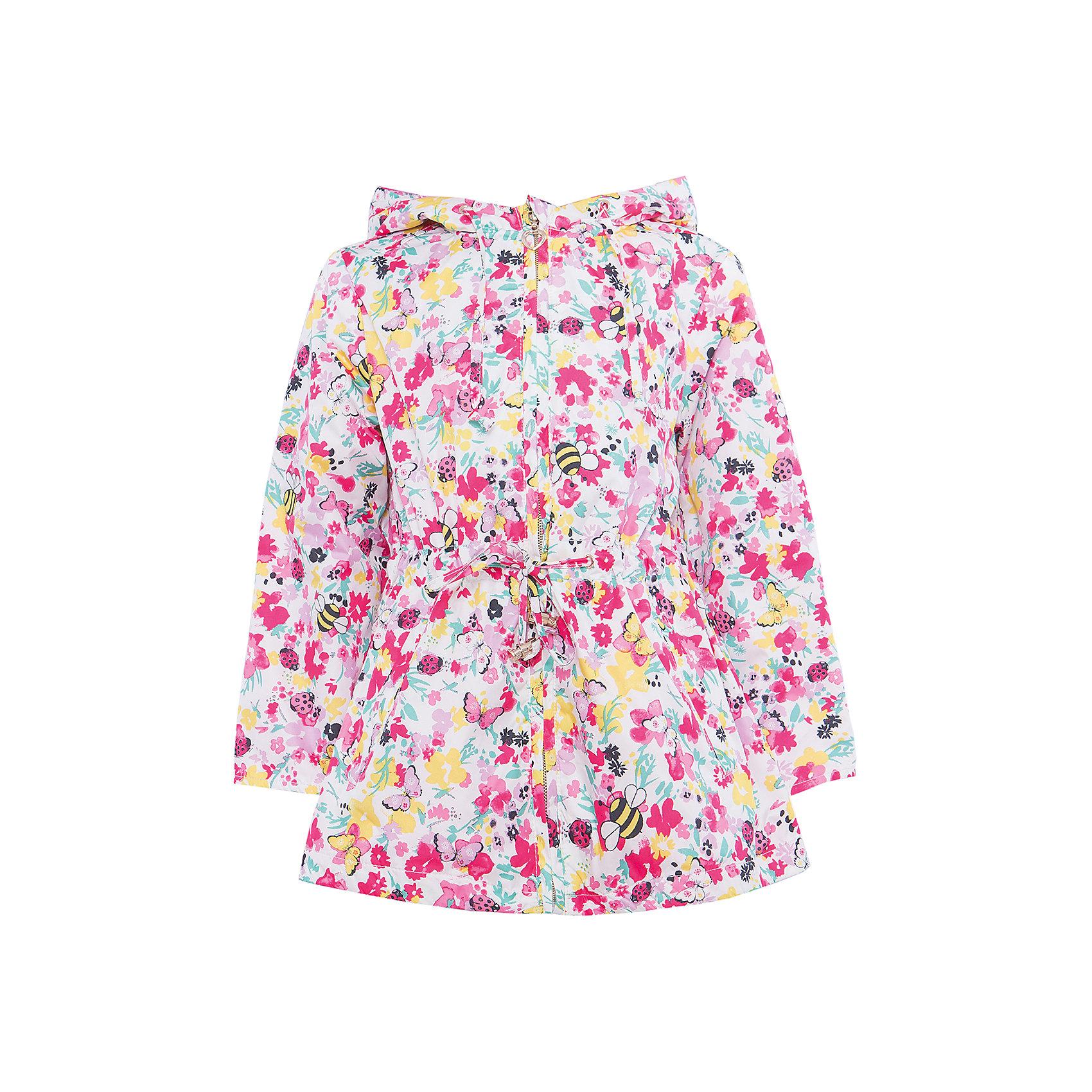 Плащ для девочки SELAВерхняя одежда<br>Характеристики товара:<br><br>• цвет: розовый принт<br>• состав: 100% полиэстер; подкладка: 65% хлопок, 35% полиэстер<br>• температурный режим: от +10°до +20°С<br>• сезон: лето-весна<br>• модель прямого кроя с кулиской<br>• молния<br>• принт<br>• капюшон со шнурком, не отстёгивается<br>• два кармана<br>• коллекция весна-лето 2017<br>• страна бренда: Российская Федерация<br>• страна изготовитель: Китай<br><br>Вещи из новой коллекции SELA продолжают радовать удобством! Легкий плащ для девочки поможет разнообразить гардероб ребенка и обеспечить комфорт. Он отлично сочетается с юбками и брюками. Очень стильно смотрится!<br><br>Одежда, обувь и аксессуары от российского бренда SELA не зря пользуются большой популярностью у детей и взрослых! Модели этой марки - стильные и удобные, цена при этом неизменно остается доступной. Для их производства используются только безопасные, качественные материалы и фурнитура. Новая коллекция поддерживает хорошие традиции бренда! <br><br>Плащ для девочки от популярного бренда SELA (СЕЛА) можно купить в нашем интернет-магазине.<br><br>Ширина мм: 356<br>Глубина мм: 10<br>Высота мм: 245<br>Вес г: 519<br>Цвет: розовый<br>Возраст от месяцев: 60<br>Возраст до месяцев: 72<br>Пол: Женский<br>Возраст: Детский<br>Размер: 116,98,104,110<br>SKU: 5305188
