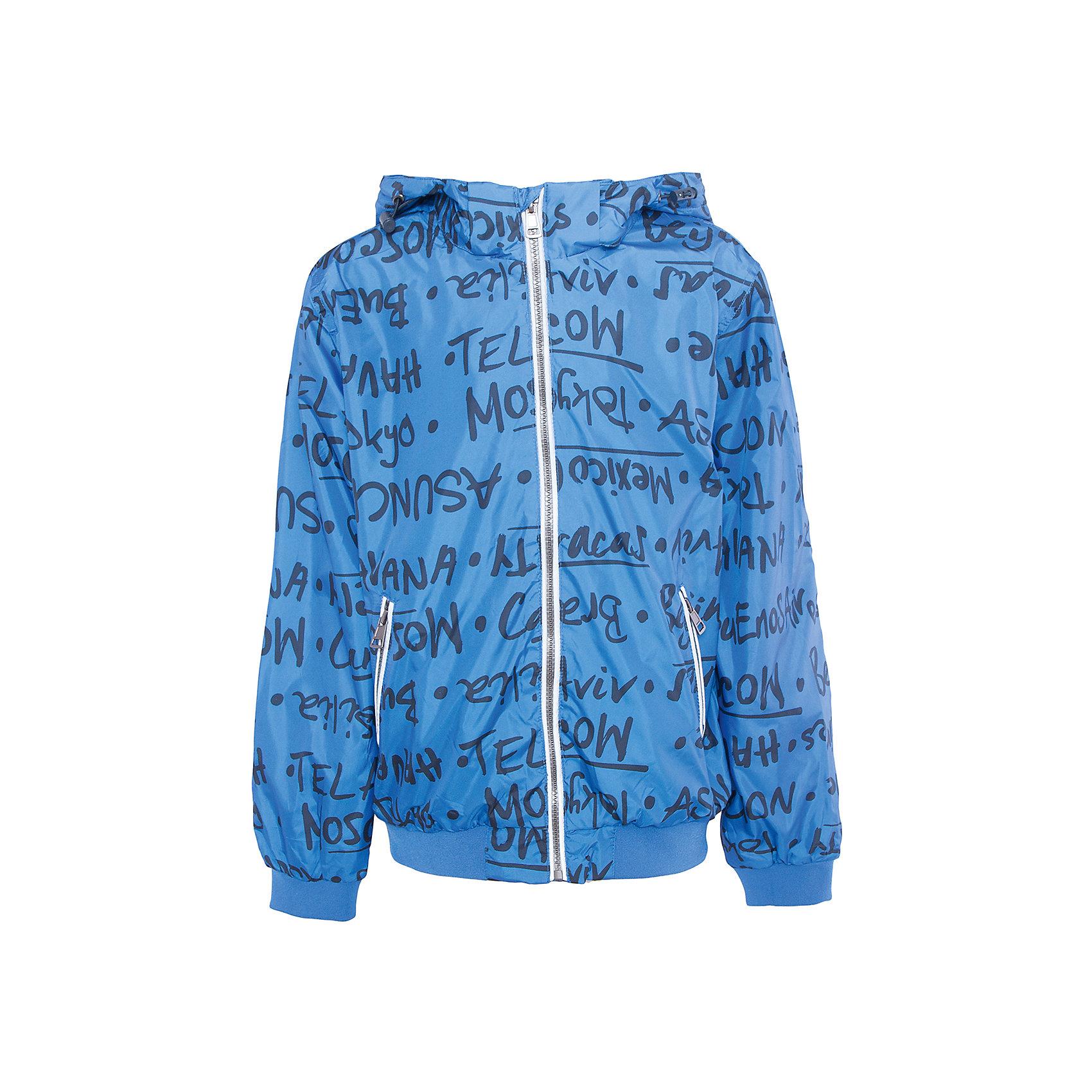 Куртка для мальчика SELAХарактеристики товара:<br><br>• цвет: синий<br>• состав: 100% полиэстер; подкладка: 100% хлопок; отделка: 65% хлопок, 30% полиэстер, 5% эластан; подкладка рукава: 100% полиэстер<br>• температурный режим: от +10°до +20°С<br>• водоотталкивающий материал<br>• сезон: весна-лето<br>• воротник-стойка<br>• молния<br>• принт<br>• эластичные манжеты и низ<br>• капюшон отстёгивается<br>• два кармана на молнии<br>• коллекция весна-лето 2017<br>• страна бренда: Российская Федерация<br><br>Вещи из новой коллекции SELA продолжают радовать удобством! Легкая куртка для мальчика поможет разнообразить гардероб ребенка и обеспечить комфорт. Она отлично сочетается с джинсами и брюками. Очень стильно смотрится!<br><br>Одежда, обувь и аксессуары от российского бренда SELA не зря пользуются большой популярностью у детей и взрослых! Модели этой марки - стильные и удобные, цена при этом неизменно остается доступной. Для их производства используются только безопасные, качественные материалы и фурнитура. Новая коллекция поддерживает хорошие традиции бренда! <br><br>Куртку для мальчика от популярного бренда SELA (СЕЛА) можно купить в нашем интернет-магазине.<br><br>Ширина мм: 356<br>Глубина мм: 10<br>Высота мм: 245<br>Вес г: 519<br>Цвет: синий<br>Возраст от месяцев: 84<br>Возраст до месяцев: 96<br>Пол: Мужской<br>Возраст: Детский<br>Размер: 128,140,152,116<br>SKU: 5305228