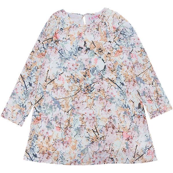 Купить Платье для девочки SELA, Китай, белый, 146, 152, 140, 134, 128, 122, 116, Женский