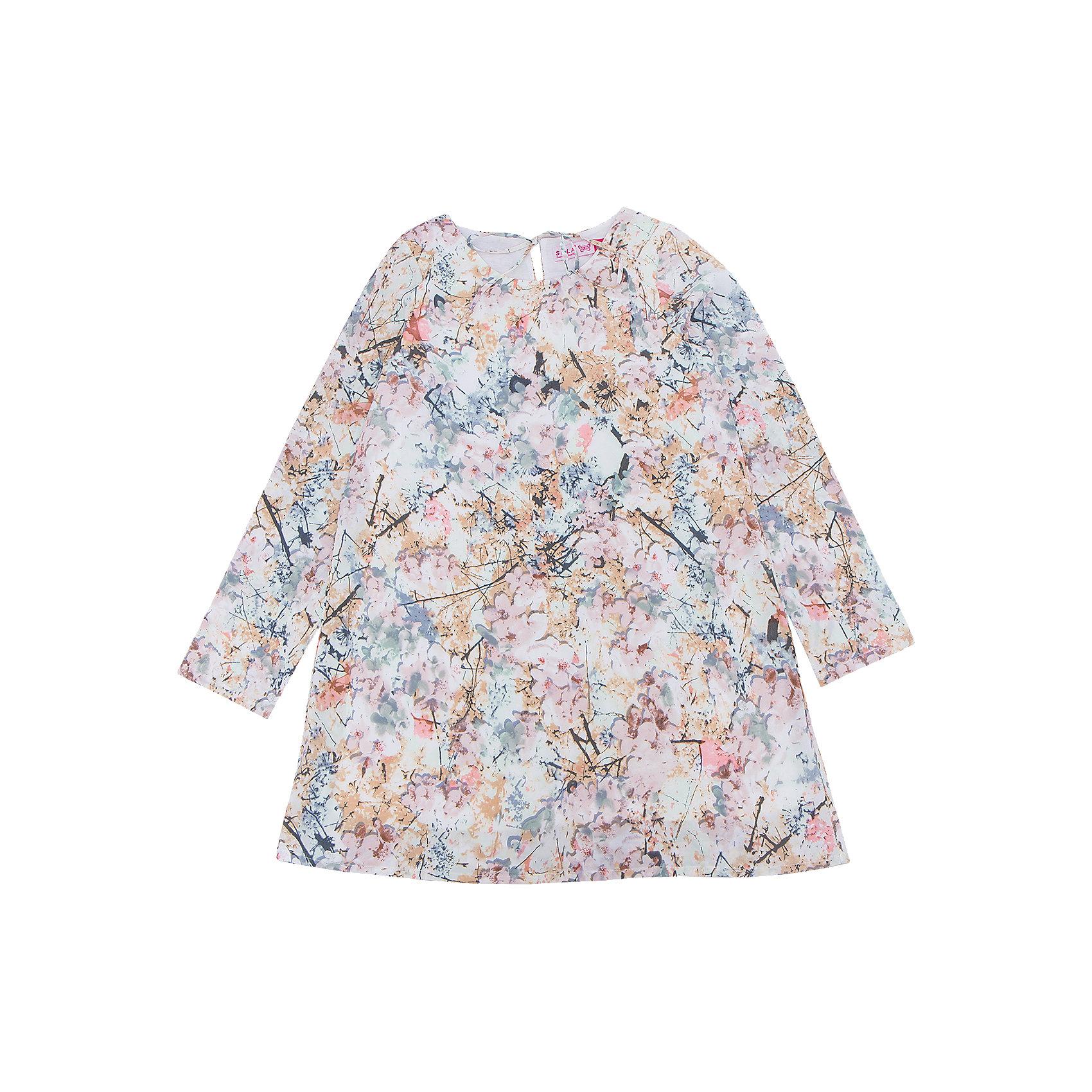 Платье для девочки SELAПлатья и сарафаны<br>Характеристики товара:<br><br>• цвет: мульти<br>• сезон: лето, демисезон<br>• состав: 100% ПЭ; подкладка: 65% хлопок, 35% ПЭ<br>• декорировано принтом<br>• выше колена<br>• длинные рукава<br>• страна бренда: Россия<br><br>В новой коллекции SELA отличные модели одежды! Это платье для девочки поможет разнообразить гардероб ребенка и обеспечить комфорт. Оно отлично сочетается с различной обувью. Стильная и удобная вещь!<br><br>Одежда, обувь и аксессуары от российского бренда SELA не зря пользуются большой популярностью у детей и взрослых! Модели этой марки - стильные и удобные, цена при этом неизменно остается доступной. Для их производства используются только безопасные, качественные материалы и фурнитура.<br><br>Платье для девочки от популярного бренда SELA (СЕЛА) можно купить в нашем интернет-магазине.<br><br>Ширина мм: 236<br>Глубина мм: 16<br>Высота мм: 184<br>Вес г: 177<br>Цвет: белый<br>Возраст от месяцев: 108<br>Возраст до месяцев: 120<br>Пол: Женский<br>Возраст: Детский<br>Размер: 140,134,146,152,116,122,128<br>SKU: 5305233