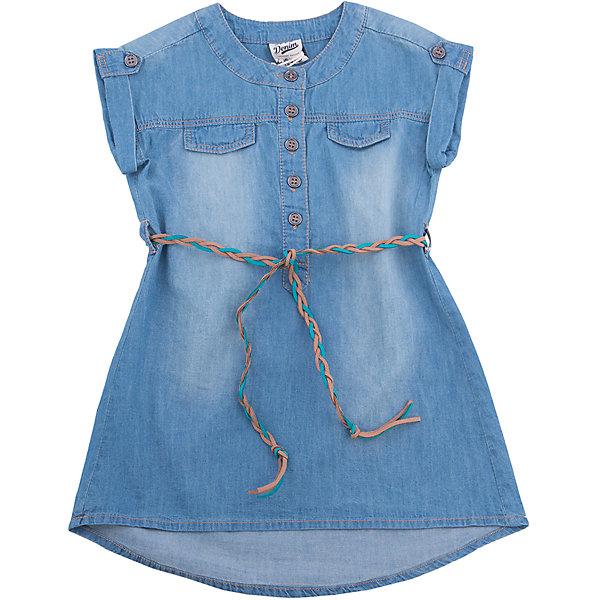 Платье джинсовое для девочки SELAДжинсовая одежда<br>Характеристики товара:<br><br>• цвет: синий джинс<br>• сезон: лето<br>• состав: 100% хлопок<br>• пуговицы<br>• длина выше колена<br>• корткие рукава<br>• страна бренда: Россия<br><br>В новой коллекции SELA отличные модели одежды! Это платье для девочки поможет разнообразить гардероб ребенка и обеспечить комфорт. Оно отлично сочетается с различной обувью.<br><br>Одежда, обувь и аксессуары от российского бренда SELA не зря пользуются большой популярностью у детей и взрослых! Модели этой марки - стильные и удобные, цена при этом неизменно остается доступной. Для их производства используются только безопасные, качественные материалы и фурнитура.<br><br>Платье для девочки от популярного бренда SELA (СЕЛА) можно купить в нашем интернет-магазине.<br><br>Ширина мм: 236<br>Глубина мм: 16<br>Высота мм: 184<br>Вес г: 177<br>Цвет: синий деним<br>Возраст от месяцев: 24<br>Возраст до месяцев: 36<br>Пол: Женский<br>Возраст: Детский<br>Размер: 98,92,116,110,104<br>SKU: 5305262