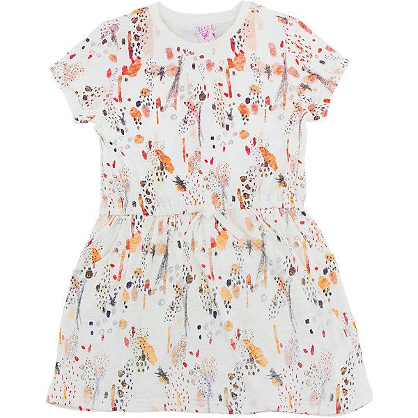 Платье для девочки SELAПлатья и сарафаны<br>Характеристики товара:<br><br>• цвет: vekmnb<br>• сезон: лето<br>• состав: 100% хлопок<br>• принт<br>• длина выше колена<br>• корткие рукава<br>• страна бренда: Россия<br><br>В новой коллекции SELA отличные модели одежды! Это платье для девочки поможет разнообразить гардероб ребенка и обеспечить комфорт. Оно отлично сочетается с любой обувью обувью.<br><br>Одежда, обувь и аксессуары от российского бренда SELA не зря пользуются большой популярностью у детей и взрослых! <br><br>Платье для девочки от популярного бренда SELA (СЕЛА) можно купить в нашем интернет-магазине.<br><br>Ширина мм: 236<br>Глубина мм: 16<br>Высота мм: 184<br>Вес г: 177<br>Цвет: желтый<br>Возраст от месяцев: 60<br>Возраст до месяцев: 72<br>Пол: Женский<br>Возраст: Детский<br>Размер: 98,116,110,104<br>SKU: 5305351