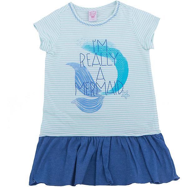 Платье для девочки SELAПлатья и сарафаны<br>Характеристики товара:<br><br>• цвет: голубой<br>• сезон: лето<br>• состав: 100% хлопок<br>• принт<br>• длина выше колена<br>• корткие рукава<br>• страна бренда: Россия<br><br>В новой коллекции SELA отличные модели одежды! Это платье для девочки поможет разнообразить гардероб ребенка и обеспечить комфорт. Оно отлично сочетается с различной обувью.<br><br>Одежда, обувь и аксессуары от российского бренда SELA не зря пользуются большой популярностью у детей и взрослых!<br><br>Платье для девочки от популярного бренда SELA (СЕЛА) можно купить в нашем интернет-магазине.<br>Ширина мм: 236; Глубина мм: 16; Высота мм: 184; Вес г: 177; Цвет: белый; Возраст от месяцев: 48; Возраст до месяцев: 60; Пол: Женский; Возраст: Детский; Размер: 110,116,98,104; SKU: 5305356;