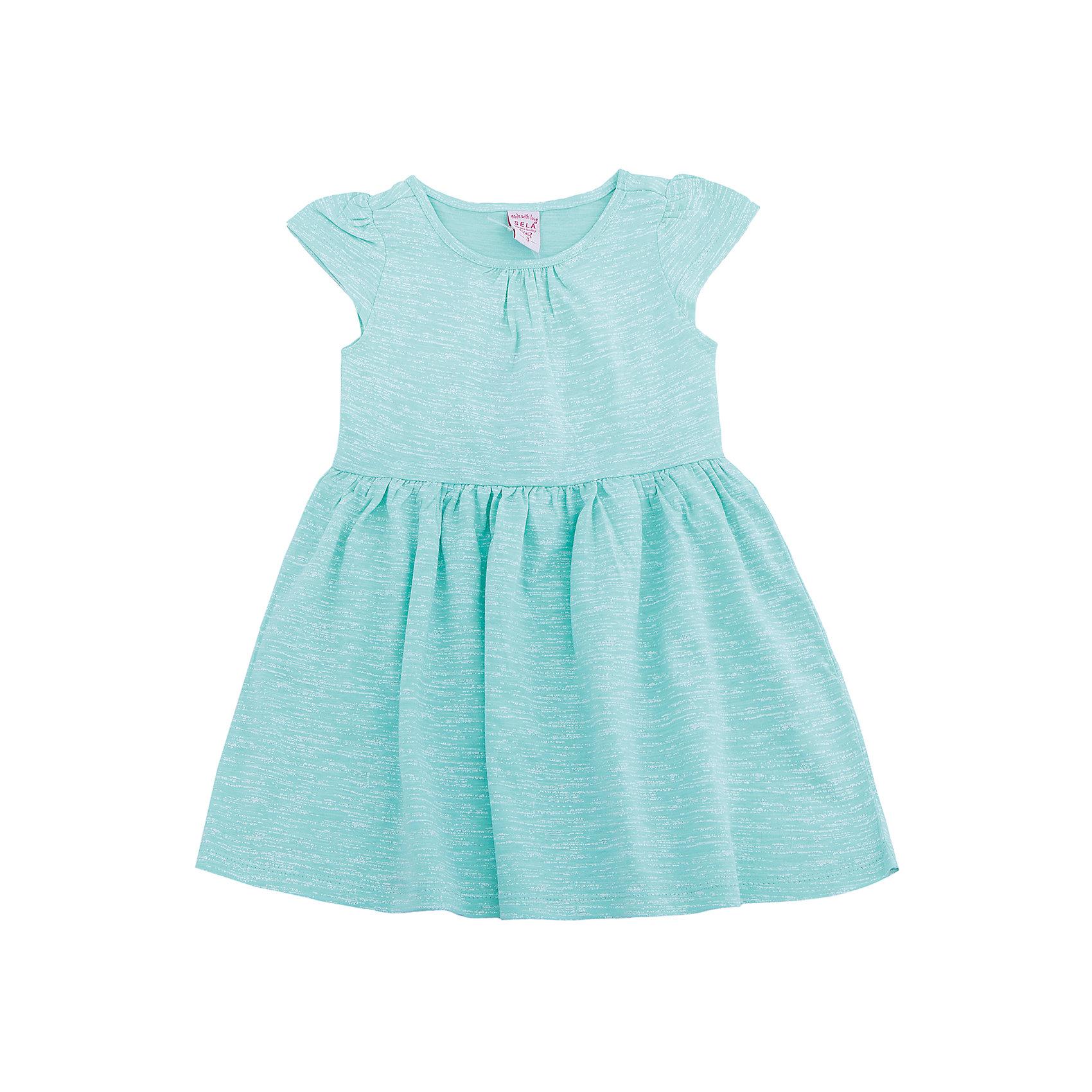 Платье для девочки SELAПлатья и сарафаны<br>Платье для девочки от известного бренда SELA<br>Состав:<br>100% хлопок<br><br>Ширина мм: 236<br>Глубина мм: 16<br>Высота мм: 184<br>Вес г: 177<br>Цвет: разноцветный<br>Возраст от месяцев: 60<br>Возраст до месяцев: 72<br>Пол: Женский<br>Возраст: Детский<br>Размер: 110,116,98,104<br>SKU: 5305366