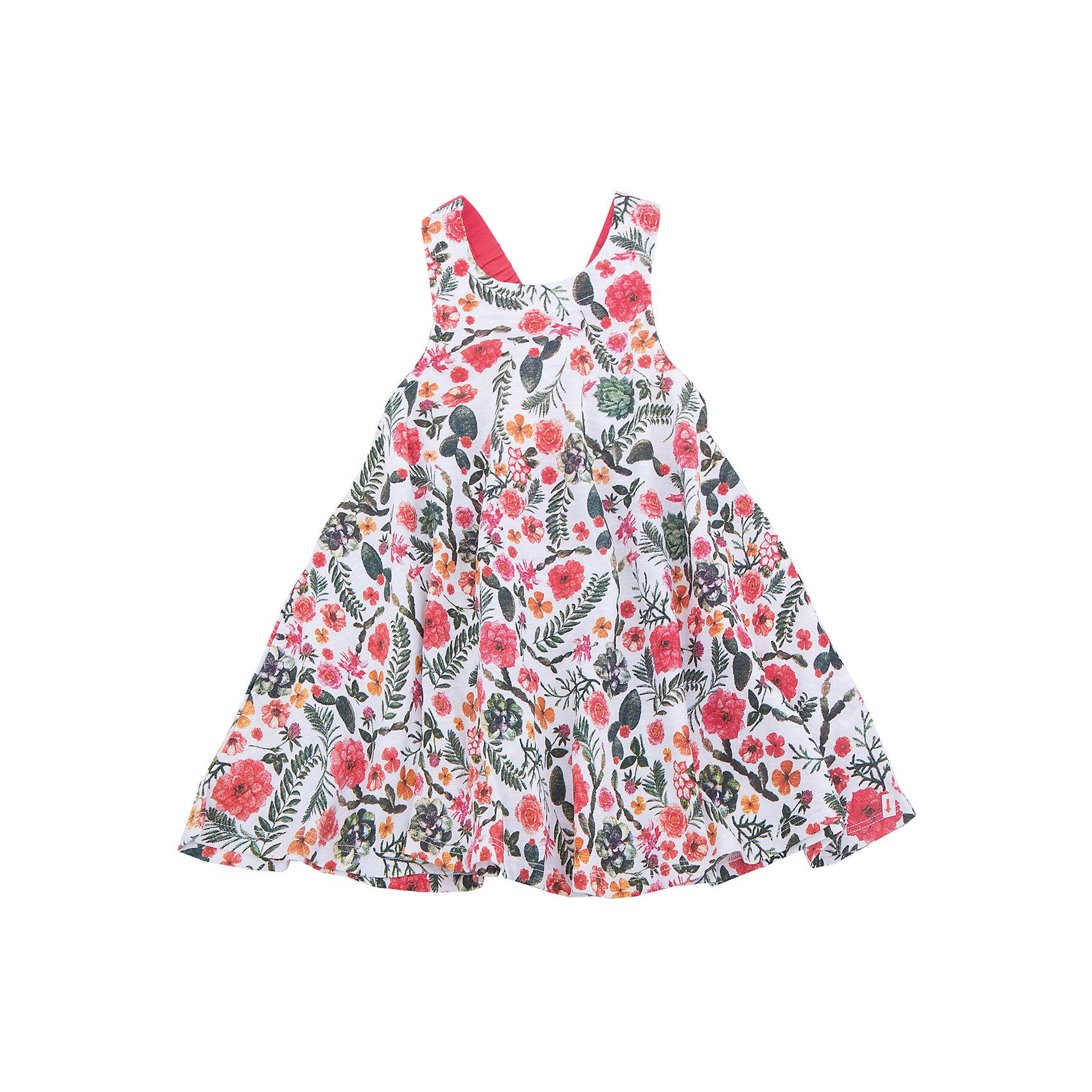 Сарафан для девочки SELAПлатья и сарафаны<br>Характеристики товара:<br><br>• цвет: мульти<br>• сезон: лето<br>• состав: 60% хлопок, 40% ПЭ<br>• силуэт расширенный к низу<br>• длина выше колена<br>• принт<br>• комфортная посадка<br>• страна бренда: Россия<br><br>Платье для девочки поможет разнообразить гардероб ребенка и обеспечить комфорт. <br>Оно отлично сочетается с различной обувью. Стильная и удобная вещь!<br>Одежда, обувь и аксессуары от российского бренда SELA не зря пользуются большой популярностью у детей и взрослых! Модели этой марки - стильные и удобные, цена при этом неизменно остается доступной. Для их производства используются только безопасные, качественные материалы и фурнитура. Новая коллекция поддерживает хорошие традиции бренда! <br><br>Платье для девочки от популярного бренда SELA (СЕЛА) можно купить в нашем интернет-магазине.<br><br>Ширина мм: 236<br>Глубина мм: 16<br>Высота мм: 184<br>Вес г: 177<br>Цвет: белый<br>Возраст от месяцев: 48<br>Возраст до месяцев: 60<br>Пол: Женский<br>Возраст: Детский<br>Размер: 110,116,92,98,104<br>SKU: 5305411