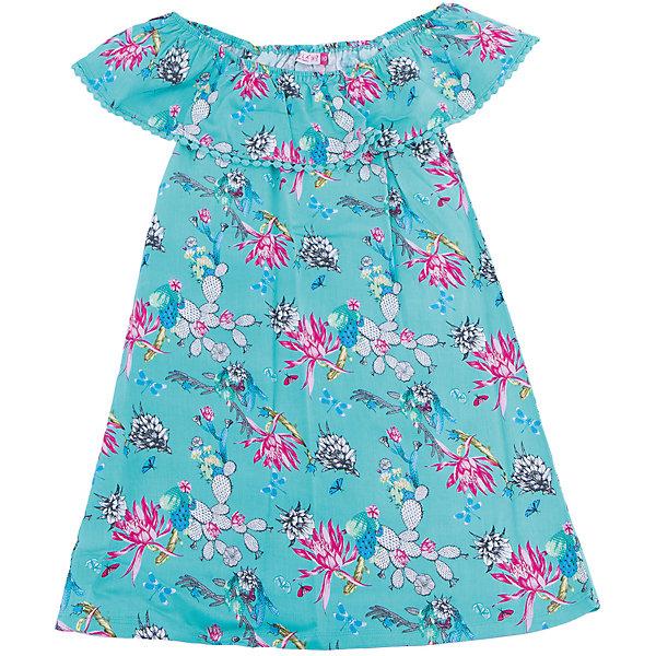 Платье для девочки SELAПлатья и сарафаны<br>Характеристики товара:<br><br>• цвет: бирюзовый<br>• состав: 100% вискоза<br>• без рукавов<br>• сезон: лето<br>• принт<br>• длина выше колена<br>• корткие рукава<br>• страна бренда: Россия<br><br>Платье для девочки поможет разнообразить гардероб ребенка и обеспечить комфорт.  Оно отлично сочетается с босоножками, сандалями или туфельками. Стильная и удобная вещь!<br><br>Одежда, обувь и аксессуары от российского бренда SELA не зря пользуются большой популярностью у детей и взрослых!<br><br>Платье для девочки от популярного бренда SELA (СЕЛА) можно купить в нашем интернет-магазине.<br><br>Ширина мм: 236<br>Глубина мм: 16<br>Высота мм: 184<br>Вес г: 177<br>Цвет: белый<br>Возраст от месяцев: 108<br>Возраст до месяцев: 120<br>Пол: Женский<br>Возраст: Детский<br>Размер: 140,134,128,122,152,146<br>SKU: 5305480
