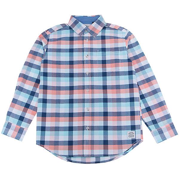 Рубашка для мальчика SELAБлузки и рубашки<br>Характеристики:<br><br>• Вид детской и подростковой одежды: рубашка<br>• Пол: для мальчика<br>• Предназначение: повседневная одежда<br>• Сезон: круглый год<br>• Тематика рисунка: клетка<br>• Цвет: синий, белый, голубой, оранжевый <br>• Материал: хлопок 100% <br>• Силуэт: прямой<br>• Рукав: длинный<br>• Воротник: отложной<br>• Застежка: пуговицы<br>• Особенности ухода: стирка при температуре не более 30 градусов, глажение на щадящем режиме<br><br>Рубашка для мальчика SELA из коллекции детской и подростковой одежды от знаменитого торгового бренда, который производит удобную, комфортную и стильную одежду, предназначенную как для будней, так и для праздников. Рубашка изготовлена из хлопка, что придает изделию повышенные гипоаллергенные и гигроскопичные свойства. Изделие выполнено в классическом стиле: прямой силуэт, длинный рукав с манжетами и отложной воротничок, на передней полочке имеется накладной карман. Рисунок из крупной клетки разных цветов придает изделию особый стиль. Рубашка прекрасно будет сочетаться как с брюками, так и с джинсами.<br><br>Рубашку для мальчика SELA можно купить в нашем интернет-магазине.<br>Состав:<br>100% хлопок<br>Ширина мм: 174; Глубина мм: 10; Высота мм: 169; Вес г: 157; Цвет: синий; Возраст от месяцев: 108; Возраст до месяцев: 120; Пол: Мужской; Возраст: Детский; Размер: 140,134,128,122,116,152,146; SKU: 5305499;