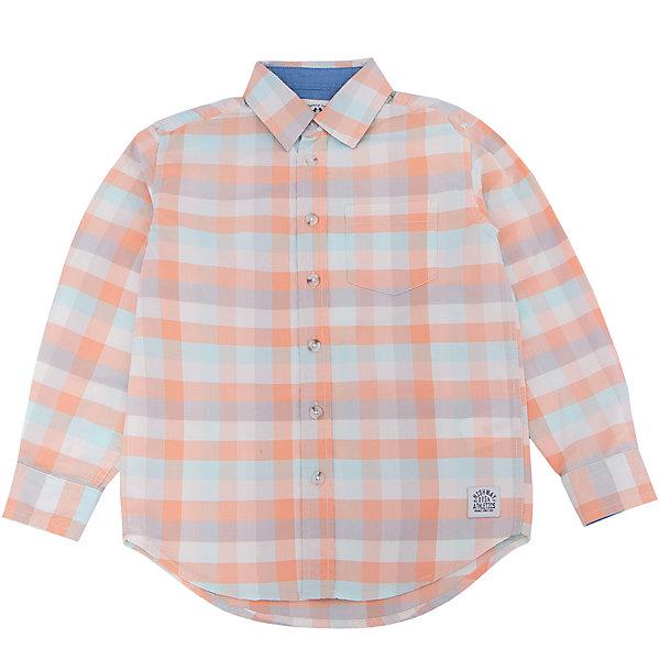 Рубашка для мальчика SELAБлузки и рубашки<br>Характеристики:<br><br>• Вид детской и подростковой одежды: рубашка<br>• Пол: для мальчика<br>• Предназначение: повседневная одежда<br>• Сезон: круглый год<br>• Тематика рисунка: клетка<br>• Цвет: желтый, оранжевый, молочный, голубой <br>• Материал: хлопок 100% <br>• Силуэт: прямой<br>• Рукав: длинный<br>• Воротник: отложной<br>• Застежка: пуговицы<br>• Особенности ухода: стирка при температуре не более 30 градусов, глажение на щадящем режиме<br><br>Рубашка для мальчика SELA из коллекции детской и подростковой одежды от знаменитого торгового бренда, который производит удобную, комфортную и стильную одежду, предназначенную как для будней, так и для праздников. Рубашка изготовлена из хлопка, что придает изделию повышенные гипоаллергенные и гигроскопичные свойства. Изделие выполнено в классическом стиле: прямой силуэт, длинный рукав с манжетами и отложной воротничок, на передней полочке имеется накладной карман. Рисунок из крупной клетки разных цветов придает изделию особый стиль. Рубашка прекрасно будет сочетаться как с брюками, так и с джинсами.<br><br>Рубашку для мальчика SELA можно купить в нашем интернет-магазине.<br>Состав:<br>100% хлопок<br>Ширина мм: 174; Глубина мм: 10; Высота мм: 169; Вес г: 157; Цвет: оранжевый; Возраст от месяцев: 108; Возраст до месяцев: 120; Пол: Мужской; Возраст: Детский; Размер: 140,134,128,122,116,152,146; SKU: 5305507;