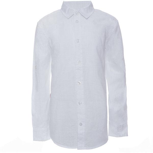 Рубашка для мальчика SELAБлузки и рубашки<br>Характеристики товара:<br><br>• цвет: белый<br>• состав: 100% хлопок<br>• застежки: пуговицы<br>• свободная посадка<br>• воротник отложной<br>• длинные рукава<br>• дышащий материал<br>• натуральная ткань<br>• страна бренда: Российская Федерация<br>• страна производства: Китай<br><br>Классическая рубашка с длинным рукавом для мальчика. Белая рубашка застегивается на пуговицы. Школьная рубашка с отложным воротничком. Подходит как для школы, так и для торжественного случая.<br><br>Рубашку для мальчика от популярного бренда SELA (СЕЛА) можно купить в нашем интернет-магазине.<br>Ширина мм: 174; Глубина мм: 10; Высота мм: 169; Вес г: 157; Цвет: белый; Возраст от месяцев: 132; Возраст до месяцев: 144; Пол: Мужской; Возраст: Детский; Размер: 152,146,140,134,128,122; SKU: 5305523;