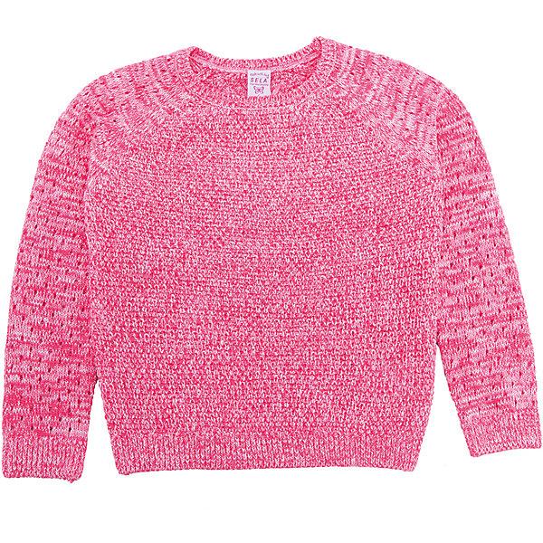 Джемпер для девочки SELAСвитера и кардиганы<br>Характеристики товара:<br><br>• цвет: розовый<br>• состав: 55% хлопок, 45% акрил<br>• прямой силуэт<br>• манжеты<br>• длинные рукава<br>• округлый горловой вырез<br>• страна бренда: Российская Федерация<br><br>Стильный джемпер для девочки поможет разнообразить гардероб ребенка и обеспечить комфорт. Он отлично сочетается с юбками и брюками. Отличается оригинальной отделкой. В составе материала - натуральный хлопок.<br><br>Джемпер для девочки от популярного бренда SELA (СЕЛА) можно купить в нашем интернет-магазине.<br>Ширина мм: 190; Глубина мм: 74; Высота мм: 229; Вес г: 236; Цвет: бежевый; Возраст от месяцев: 36; Возраст до месяцев: 48; Пол: Женский; Возраст: Детский; Размер: 104,98,92,116,110; SKU: 5305583;