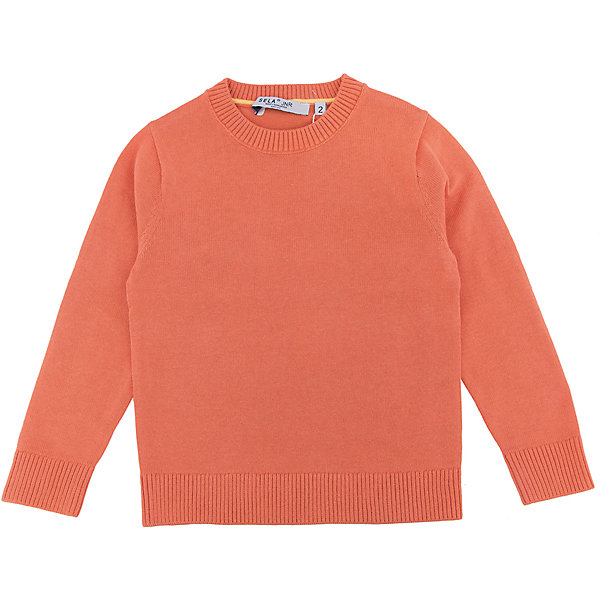 Джемпер для мальчика SELAСвитера и кардиганы<br>Характеристики:<br><br>• Вид детской и подростковой одежды: джемпер<br>• Пол: для мальчика<br>• Предназначение: повседневная (для школы)<br>• Сезон: демисезонный<br>• Тематика рисунка: без рисунка<br>• Цвет: оранжевый<br>• Материал: хлопок, 100%<br>• Силуэт: классический<br>• Рукав: втачной<br>• Воротник: округлый<br>• Особенности ухода: ручная стирка при температуре не более 30 градусов, глажение на щадящем режиме<br><br>Джемпер для мальчика SELA из коллекции детской и подростковой одежды от знаменитого торгового бренда, который производит удобную, комфортную и стильную одежду, предназначенную как для будней, так и для праздников. Джемпер выполнен из 100% хлопка, который обеспечивает изделию гипоаллергенные свойства, устойчивость к деформации и образованию катышков. Изделие выполнено в классическом стиле: прямой силуэт, длинный втачной рукав с манжетами из эластичной резинки и округлый воротничок. Джемпер выполнен в ярко оранжевом цвете. Изделие может быть в качестве базовой вещи в гардеробе для мальчика, прекрасно будет сочетаться как с брюками, так и с джинсами.<br><br>Джемпер для мальчика SELA можно купить в нашем интернет-магазине.<br>Состав:<br>100% хлопок<br><br>Ширина мм: 190<br>Глубина мм: 74<br>Высота мм: 229<br>Вес г: 236<br>Цвет: оранжевый<br>Возраст от месяцев: 18<br>Возраст до месяцев: 24<br>Пол: Мужской<br>Возраст: Детский<br>Размер: 92,116,110,104,98<br>SKU: 5305649