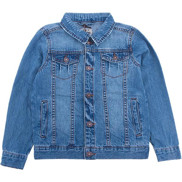 Куртка джинсовая для мальчика SELAДжинсовая одежда<br>Характеристики товара:<br><br>• цвет: синий джинс<br>• сезон: демисезон<br>• состав: 100% хлопок<br>• отложной воротник<br>• карманы<br>• длинные рукава<br>• эффект потертостей<br>• пуговицы<br>• страна бренда: Россия<br><br>Вещи из новой коллекции SELA продолжают радовать удобством! Стильная легкая куртка для мальчика  поможет разнообразить гардероб ребенка и обеспечить комфорт в прохладную погоду. Она отлично сочетается с юбками и брюками. Отличается удобством и высоким качеством. <br><br>Одежда, обувь и аксессуары от российского бренда SELA не зря пользуются большой популярностью у детей и взрослых! <br><br>Куртку для мальчика  от популярного бренда SELA (СЕЛА) можно купить в нашем интернет-магазине.<br><br>Ширина мм: 356<br>Глубина мм: 10<br>Высота мм: 245<br>Вес г: 519<br>Цвет: синий деним<br>Возраст от месяцев: 18<br>Возраст до месяцев: 24<br>Пол: Мужской<br>Возраст: Детский<br>Размер: 92,116,110,104,98<br>SKU: 5305708